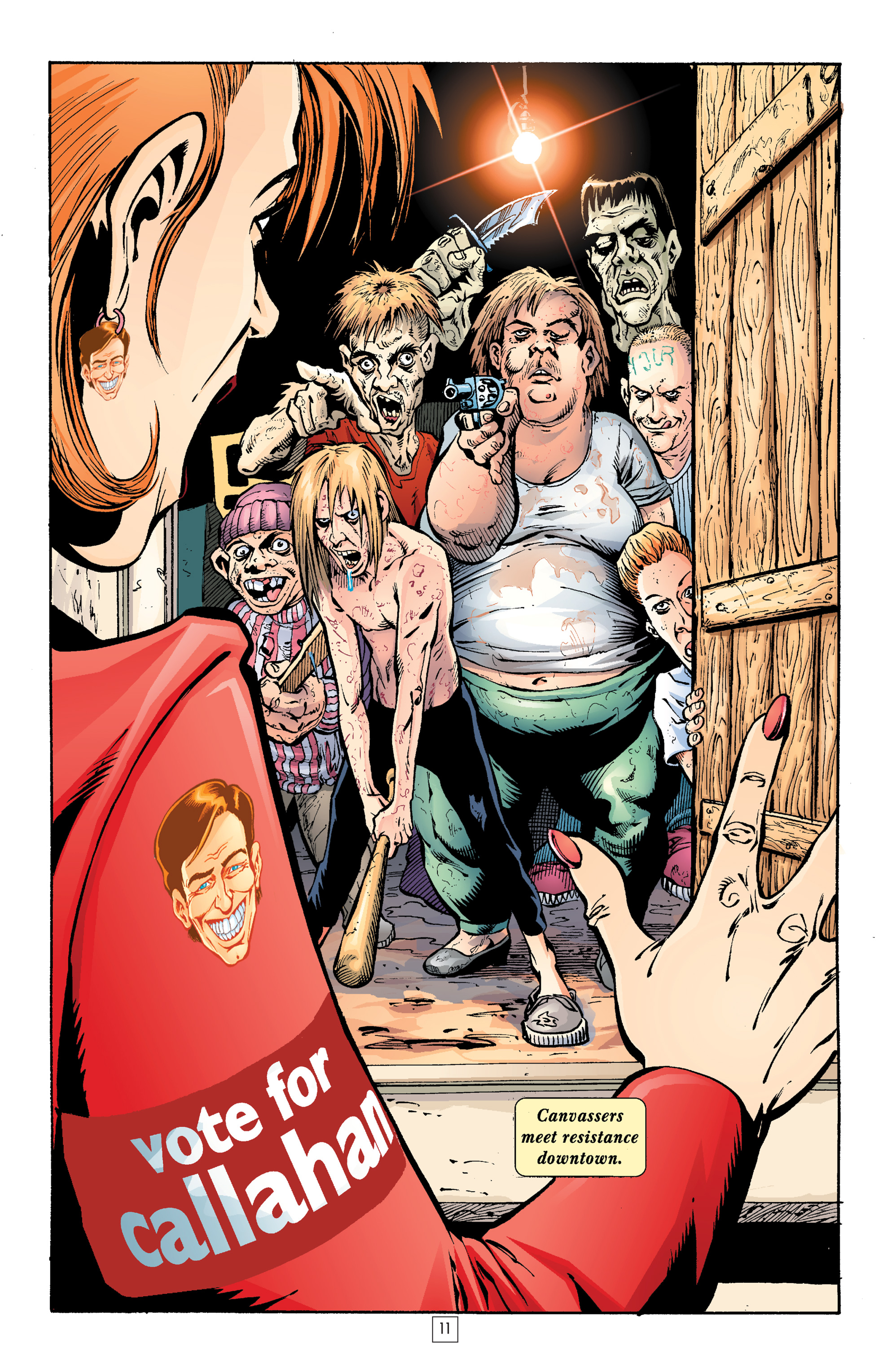 Read online Transmetropolitan comic -  Issue #21 - 12