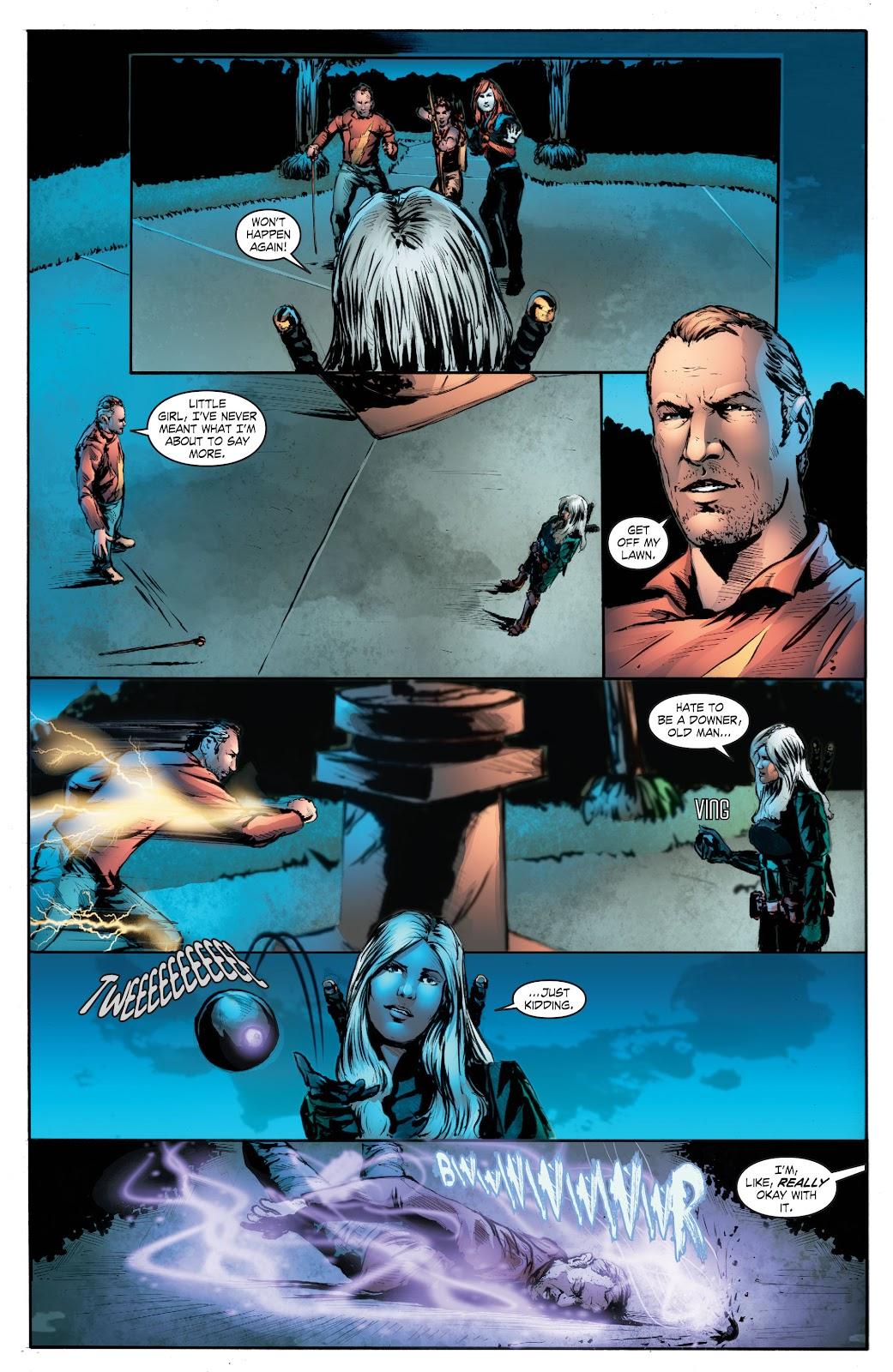 Read online Smallville Season 11 [II] comic -  Issue # TPB 7 - 159