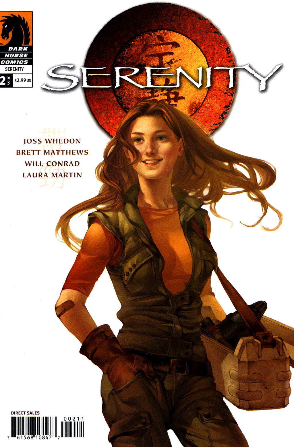 Read online Serenity comic -  Issue #2 - 1
