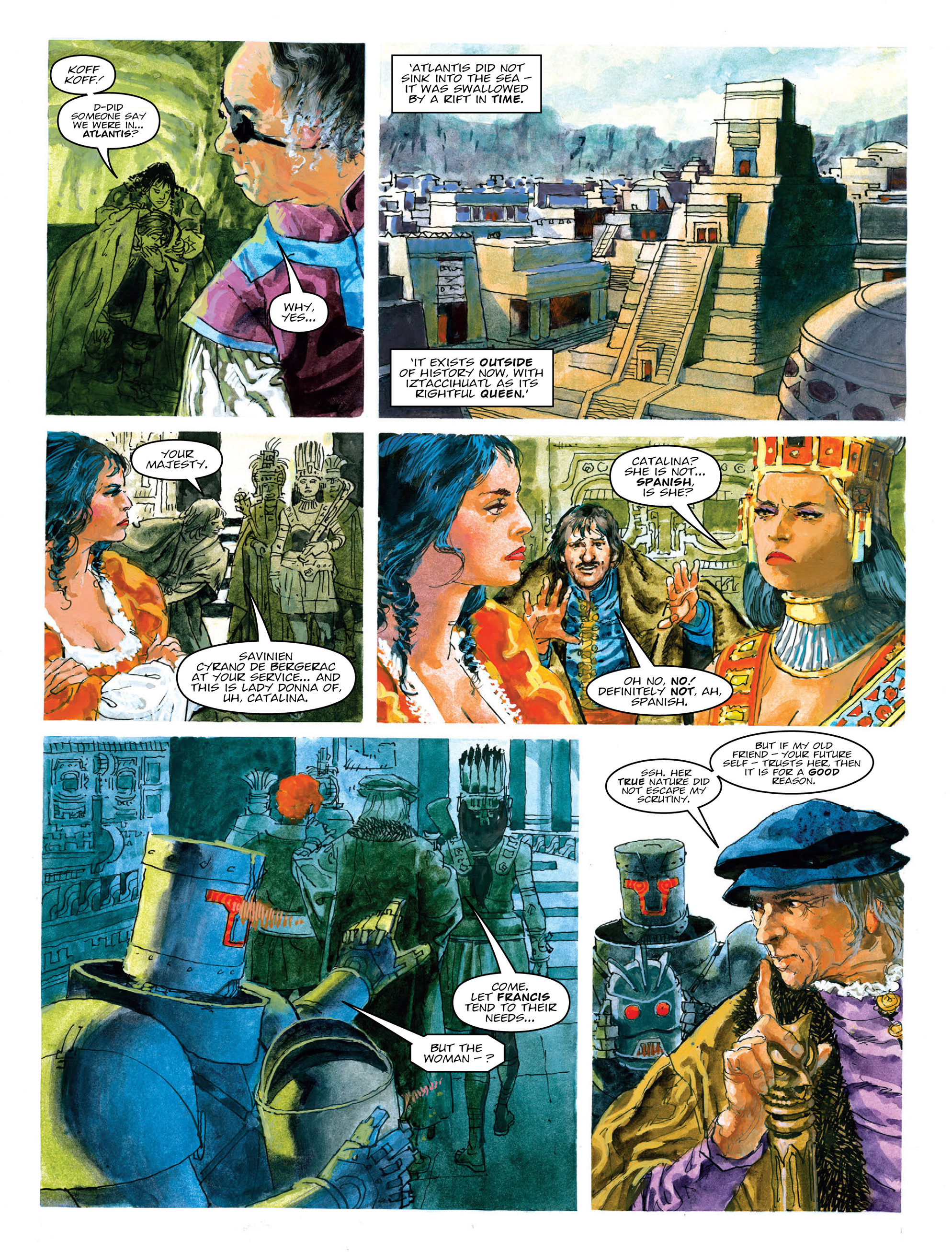Read online 2000 AD comic -  Issue #2015 - 23