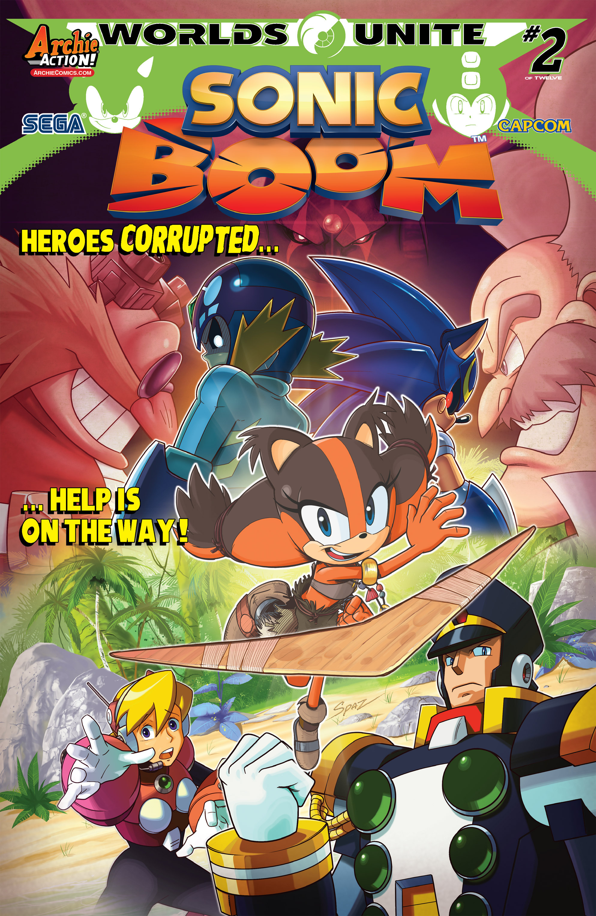 Read online Sonic Boom comic -  Issue #8 - 1