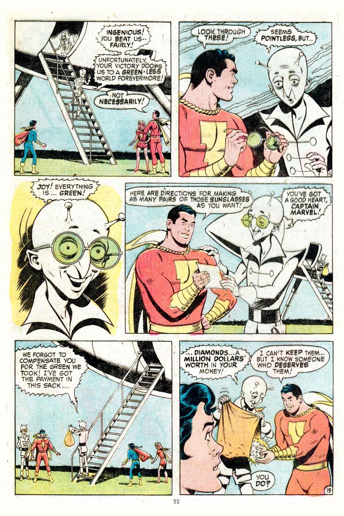 Read online Shazam! (1973) comic -  Issue #17 - 22