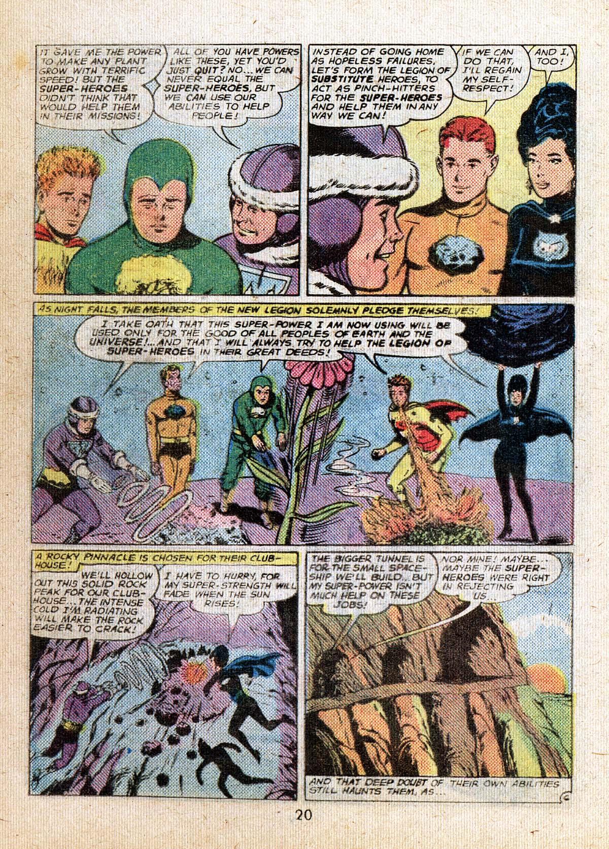 Read online Adventure Comics (1938) comic -  Issue #500 - 20