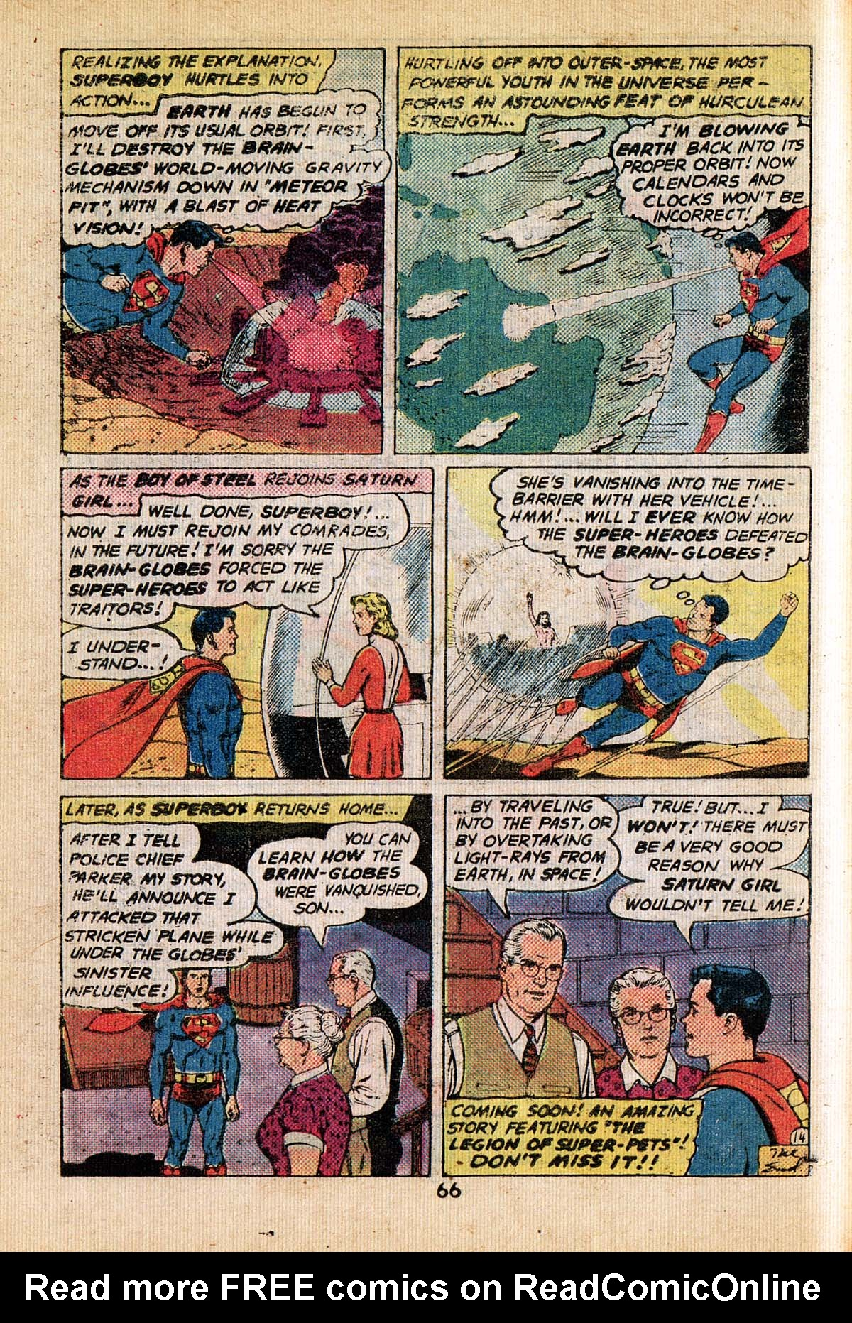 Read online Adventure Comics (1938) comic -  Issue #495 - 66