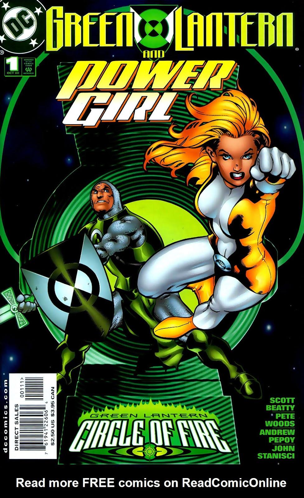 Green Lantern: Circle of Fire 3 Page 1