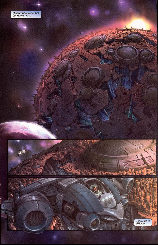Read online Transformers Armada comic -  Issue #0 - 2