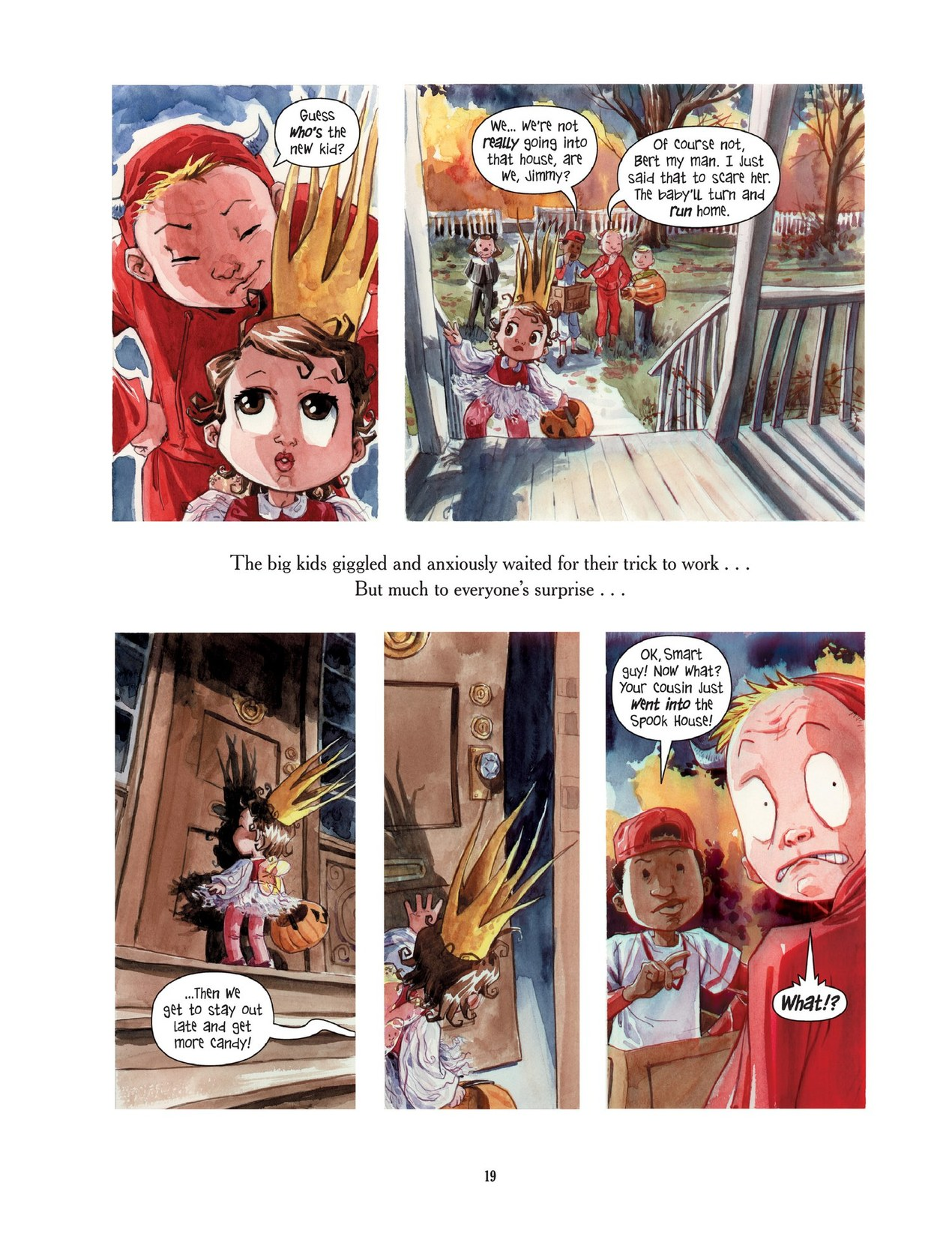Read online Scary Godmother comic -  Issue # TPB - 19