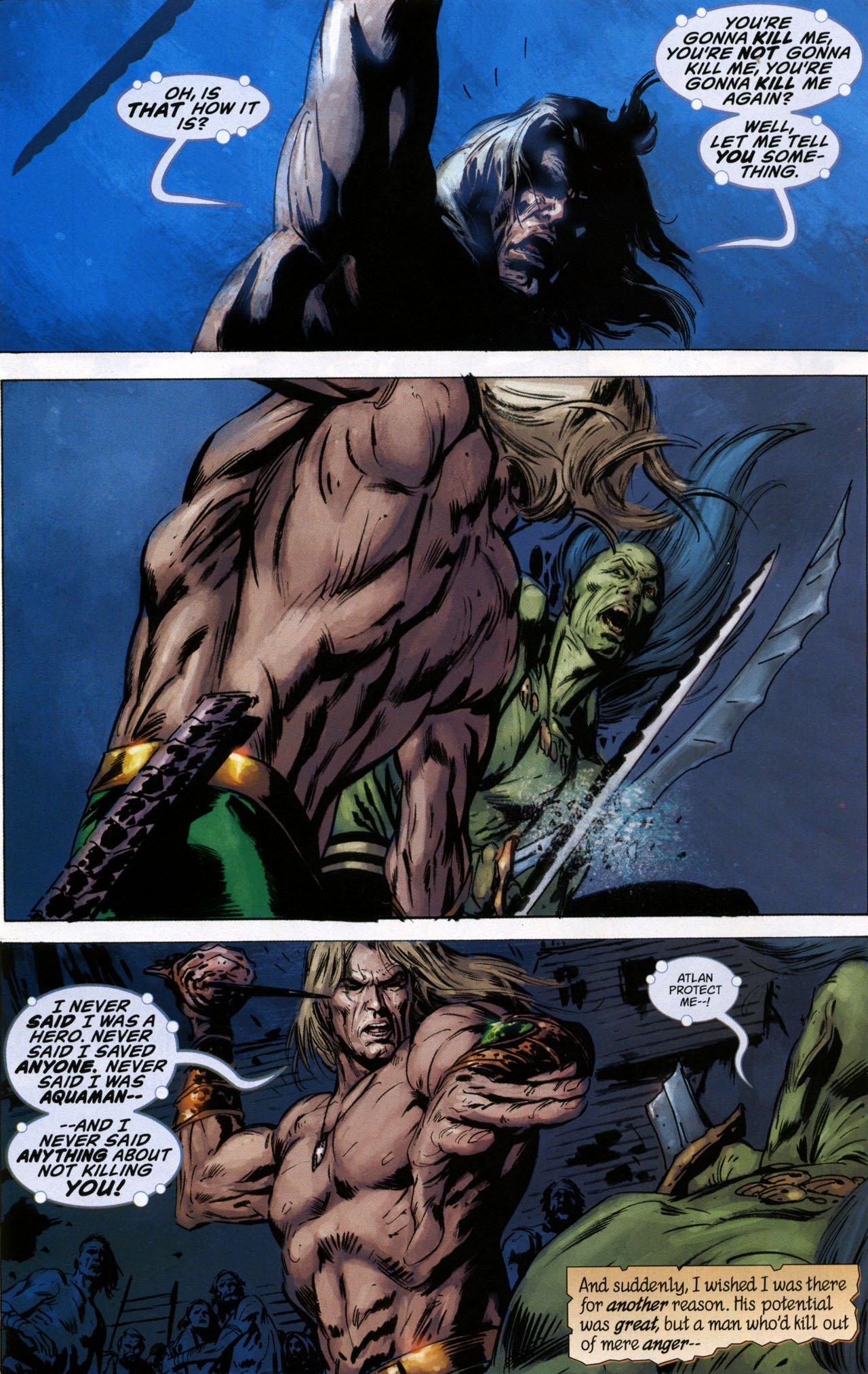 Read online Aquaman: Sword of Atlantis comic -  Issue #41 - 21