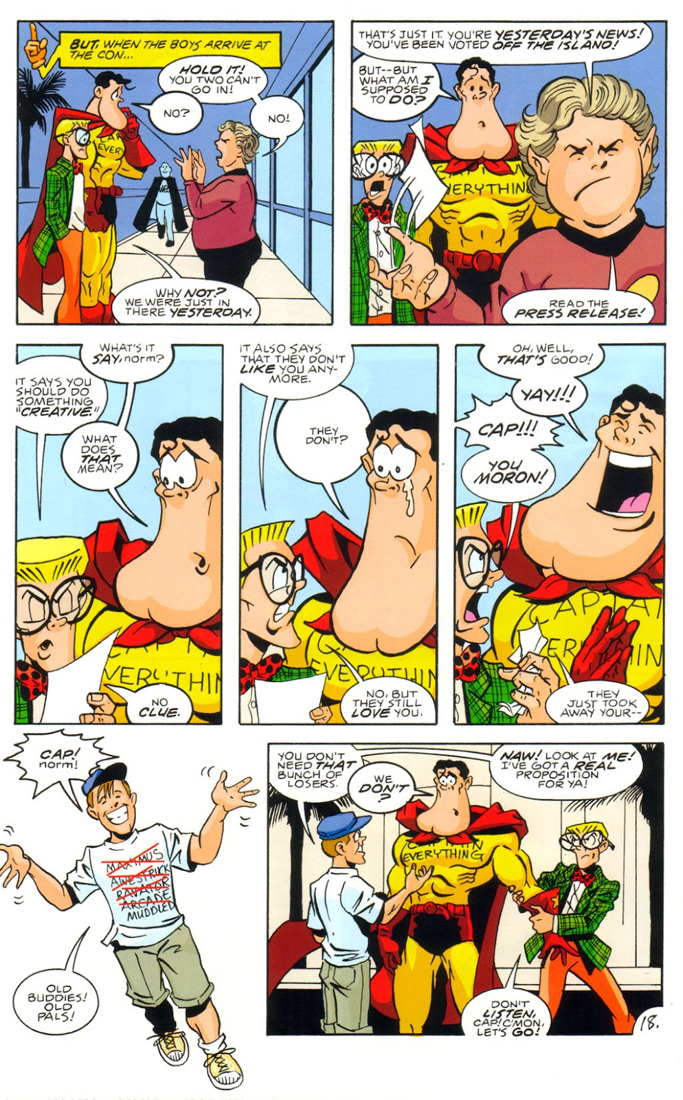 Read online Normalman 20th Anniversary Special comic -  Issue # Full - 20