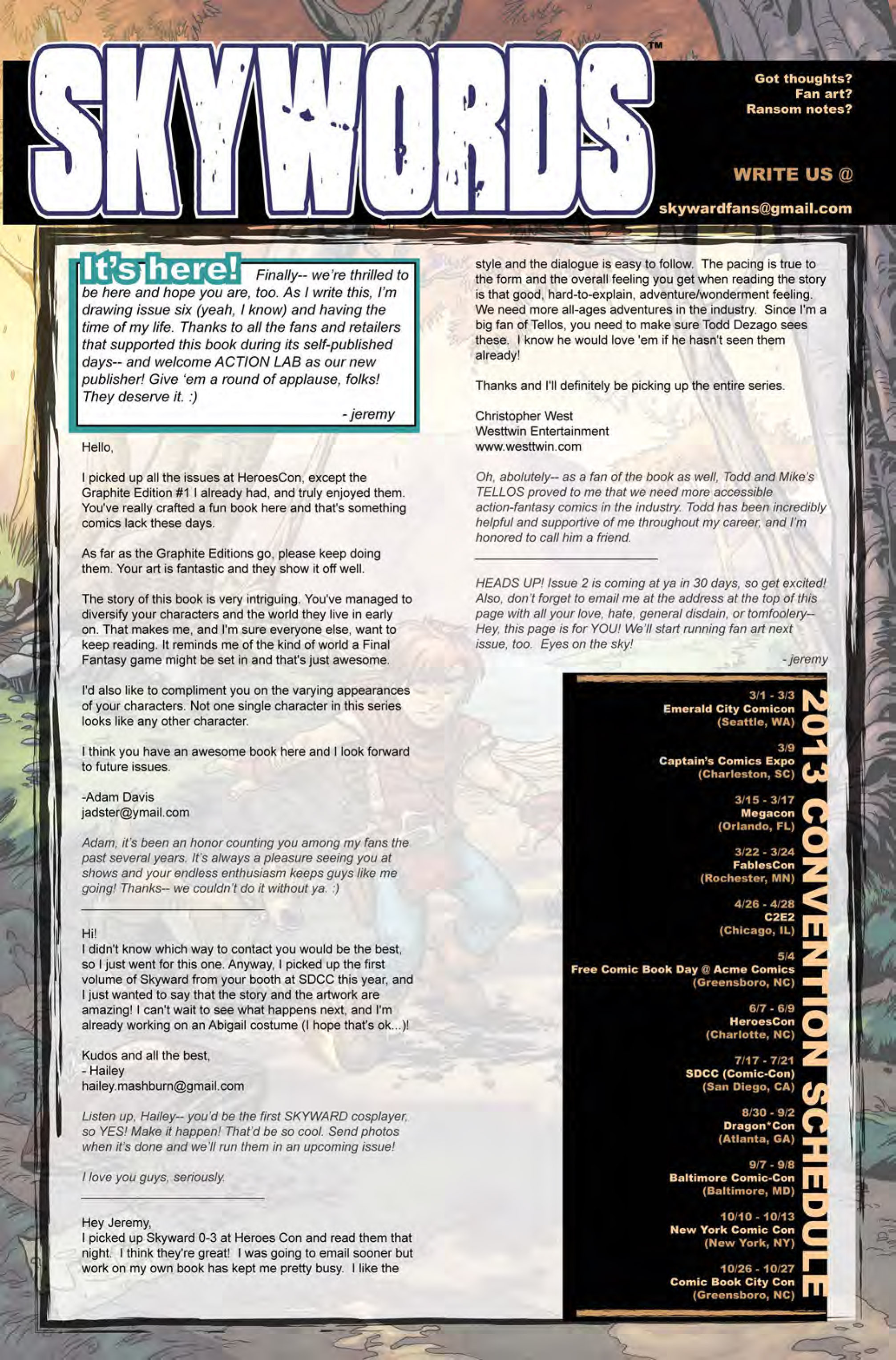 Read online Skyward comic -  Issue #1 - 28