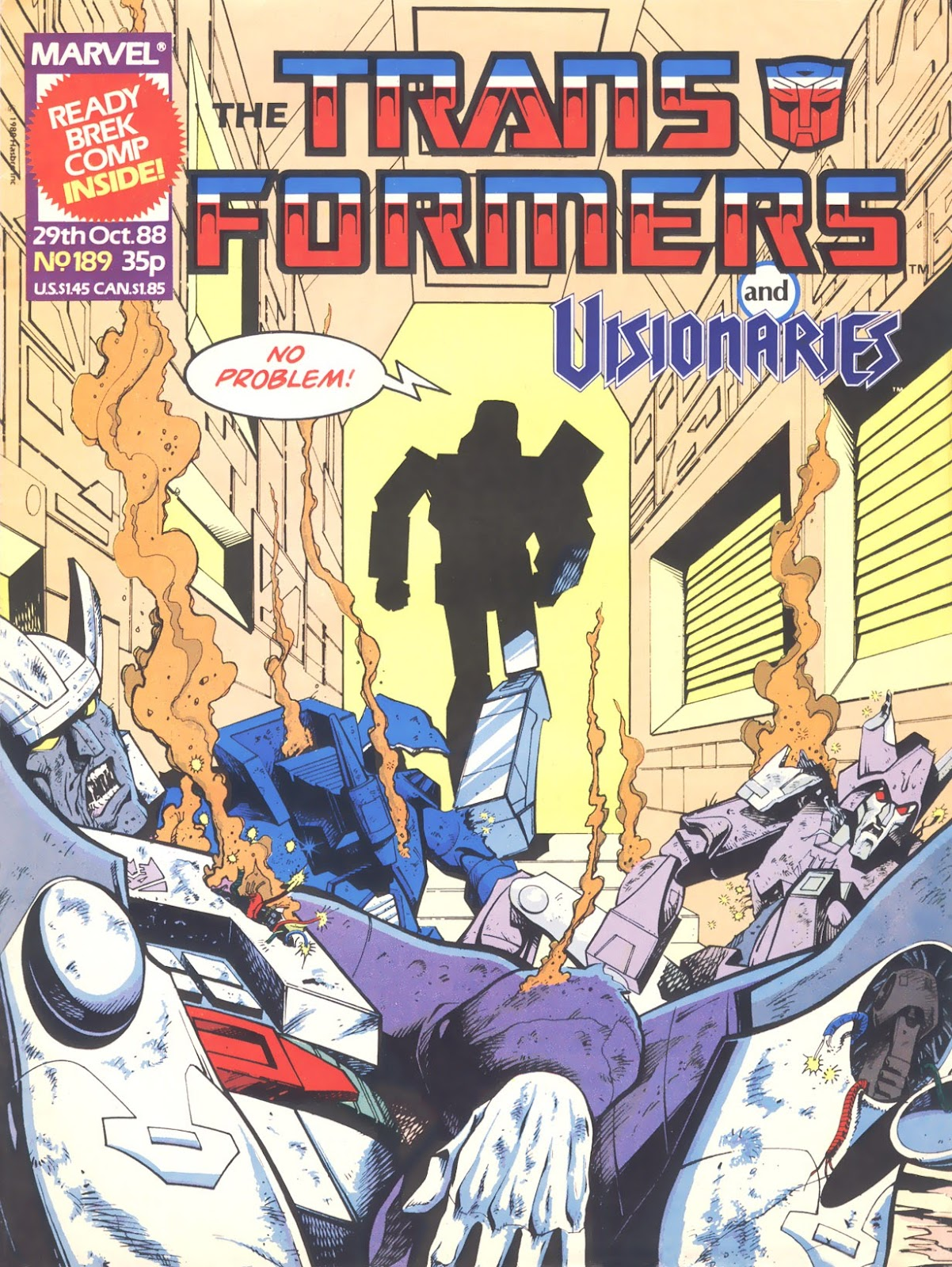 The Transformers (UK) 189 Page 1
