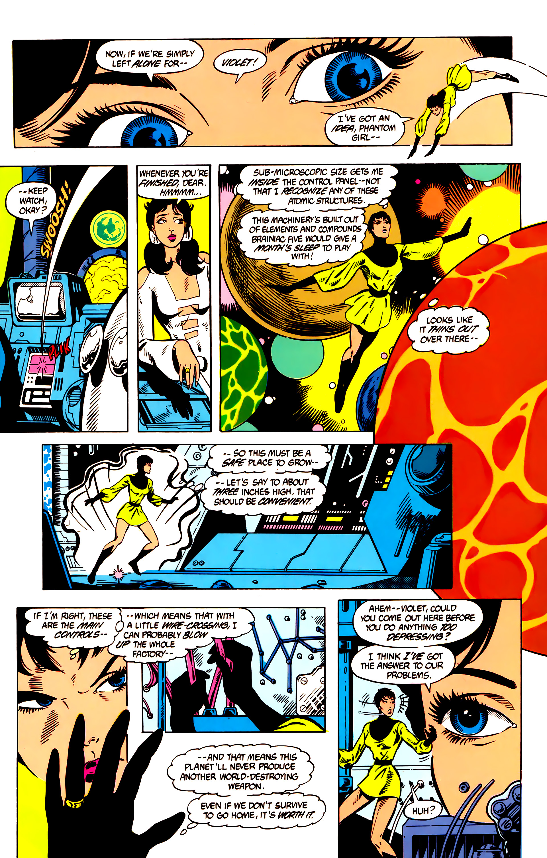 Legion of Super-Heroes (1984) 8 Page 17