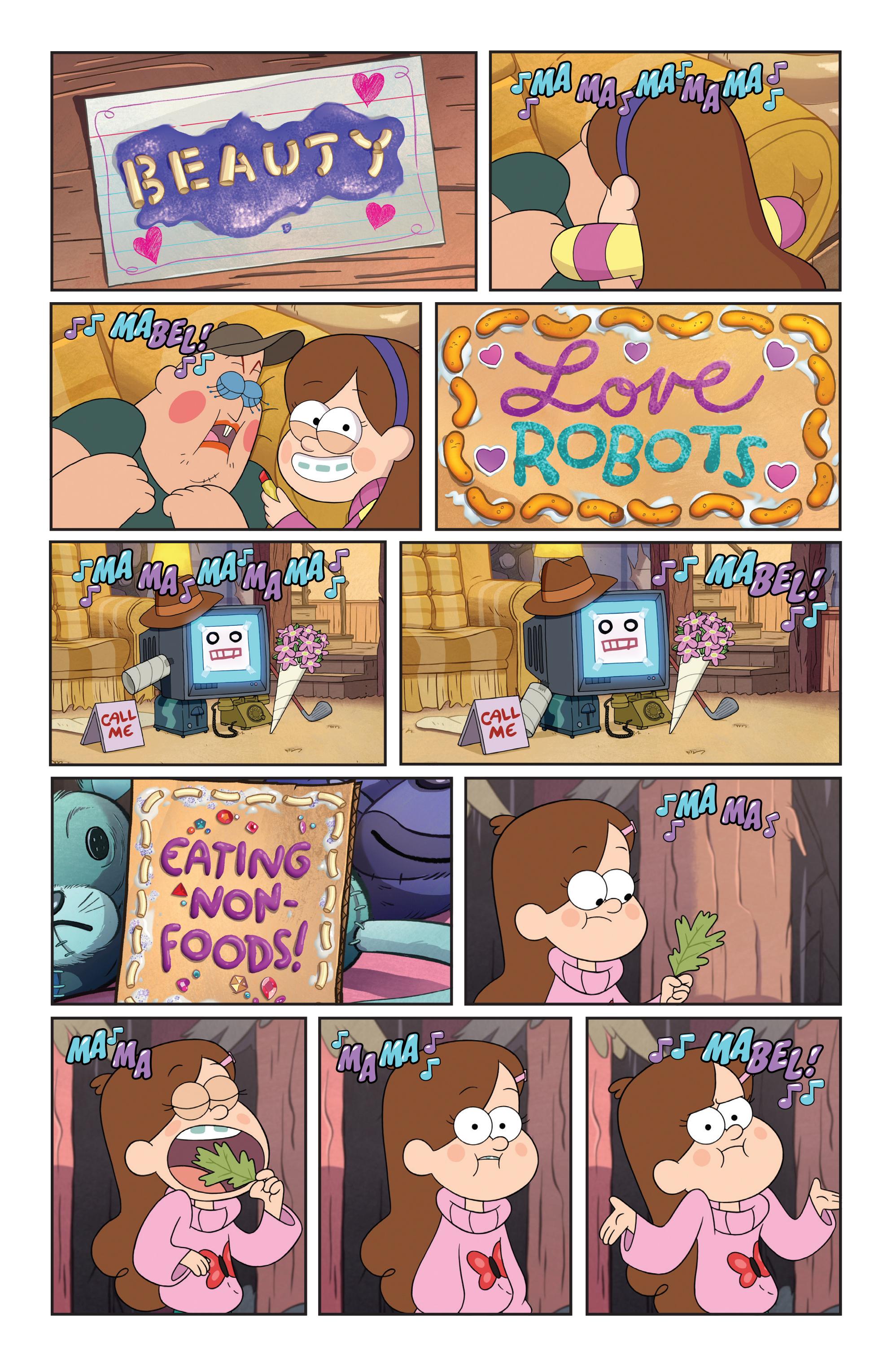 Read online Disney Gravity Falls Shorts Cinestory Comic comic -  Issue #1 - 13