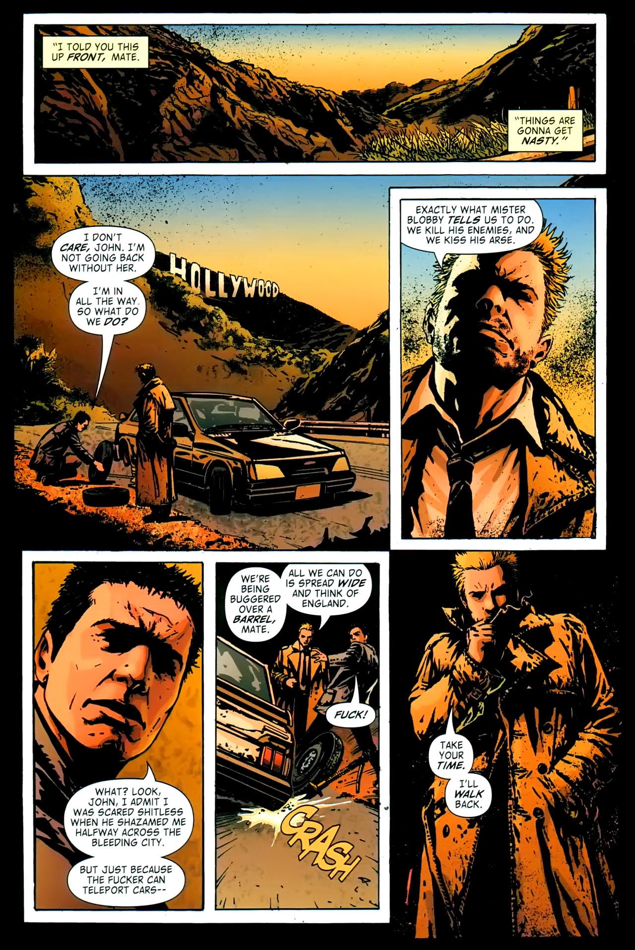 Read online John Constantine Hellblazer: All His Engines comic -  Issue # Full - 45