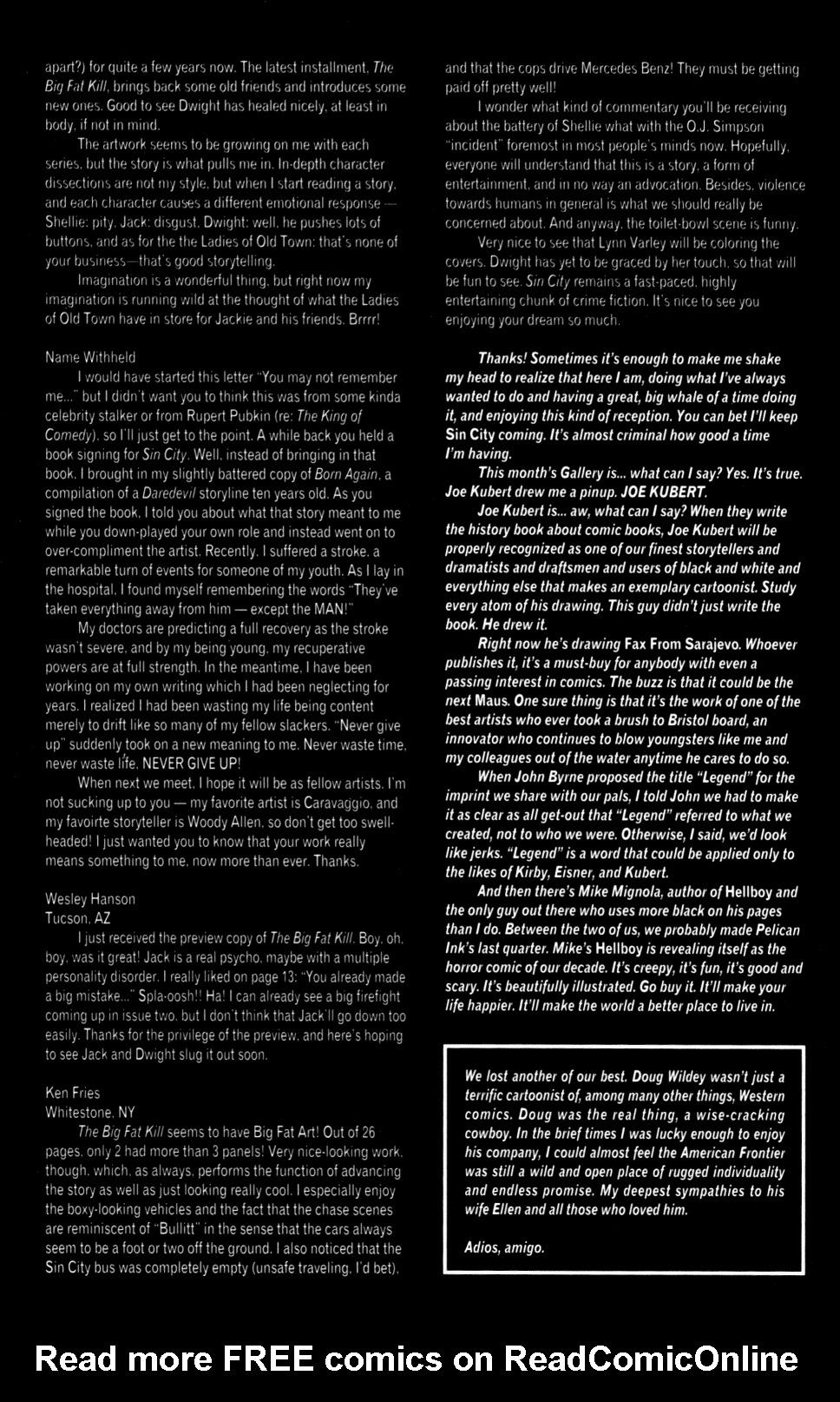 Read online Sin City: The Big Fat Kill comic -  Issue #2 - 31