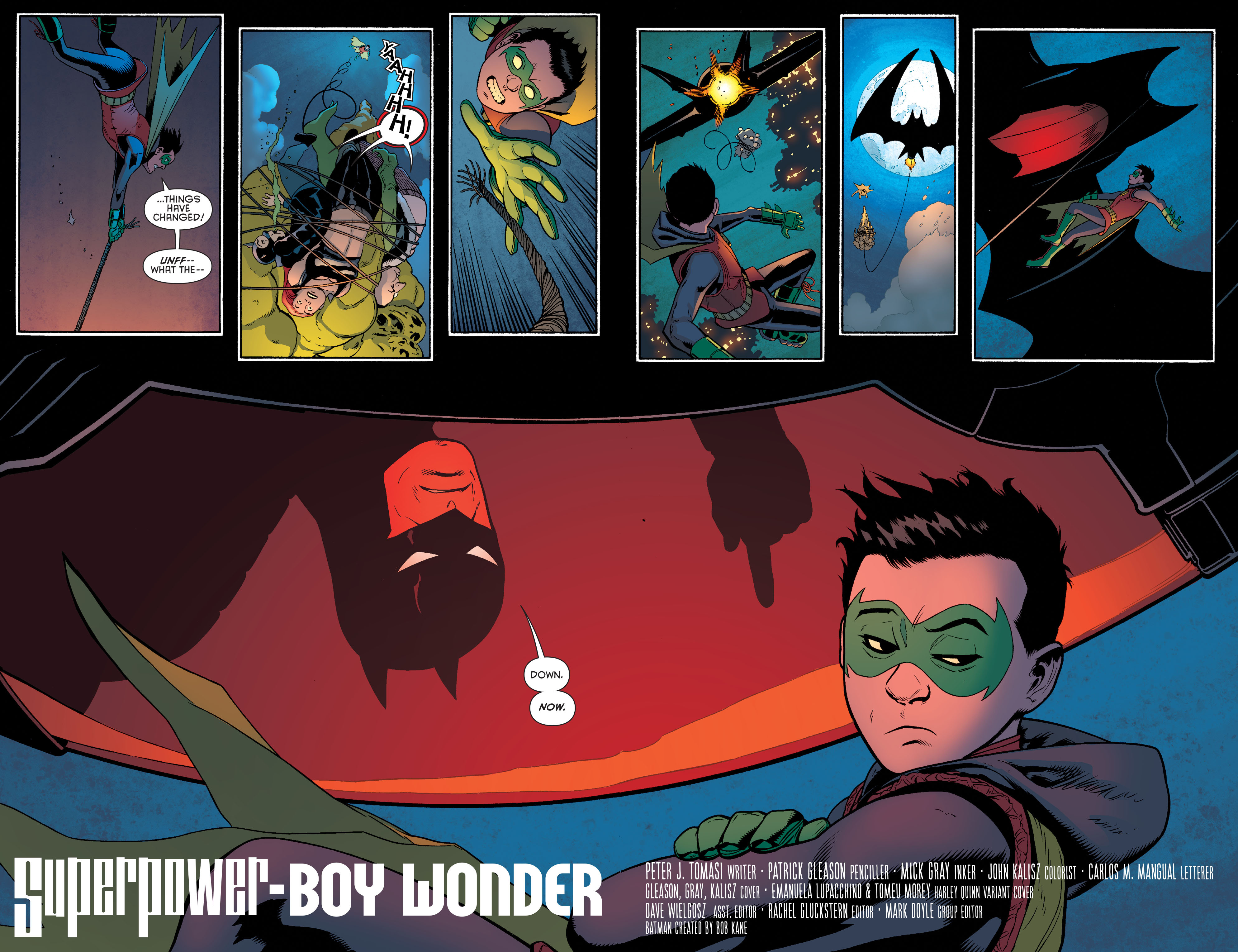 Read online Batman and Robin (2011) comic -  Issue #39 - 7