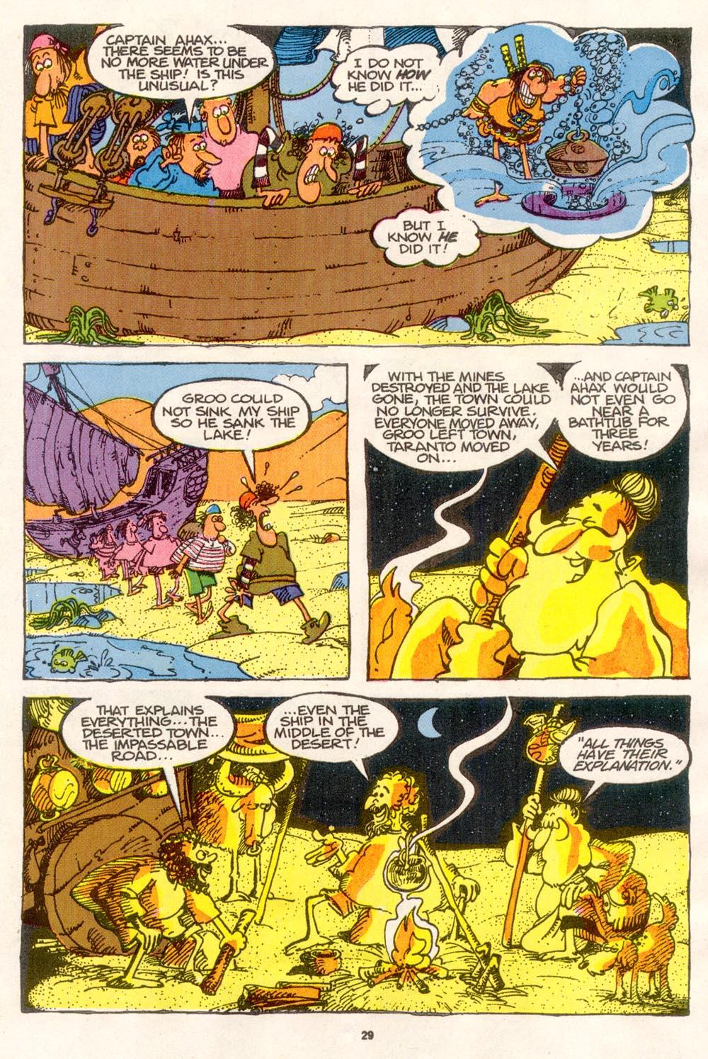 Read online Sergio Aragonés Groo the Wanderer comic -  Issue #76 - 22
