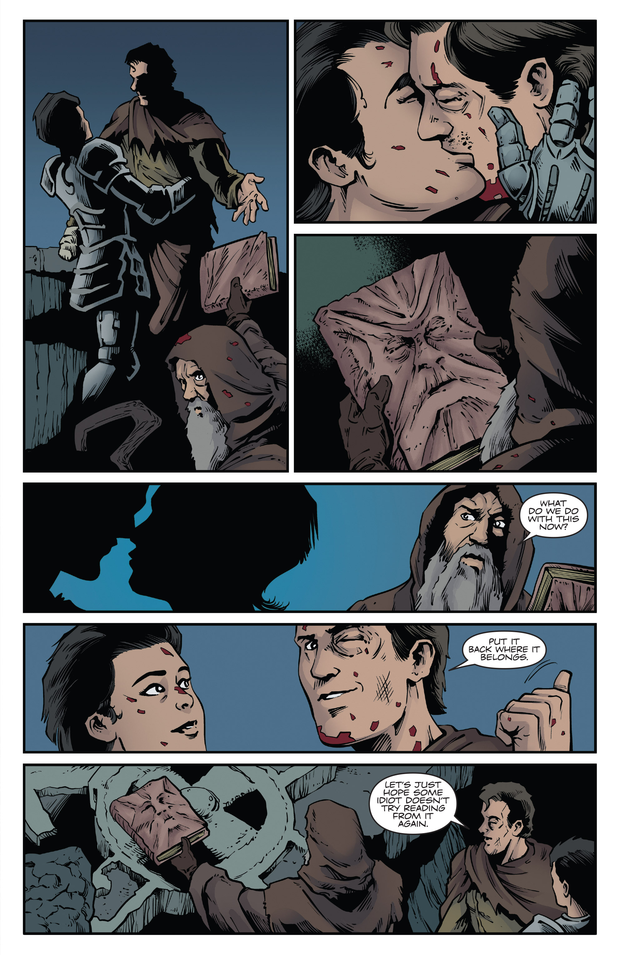 Read online Army of Darkness: Ash Gets Hitched comic -  Issue #4 - 18