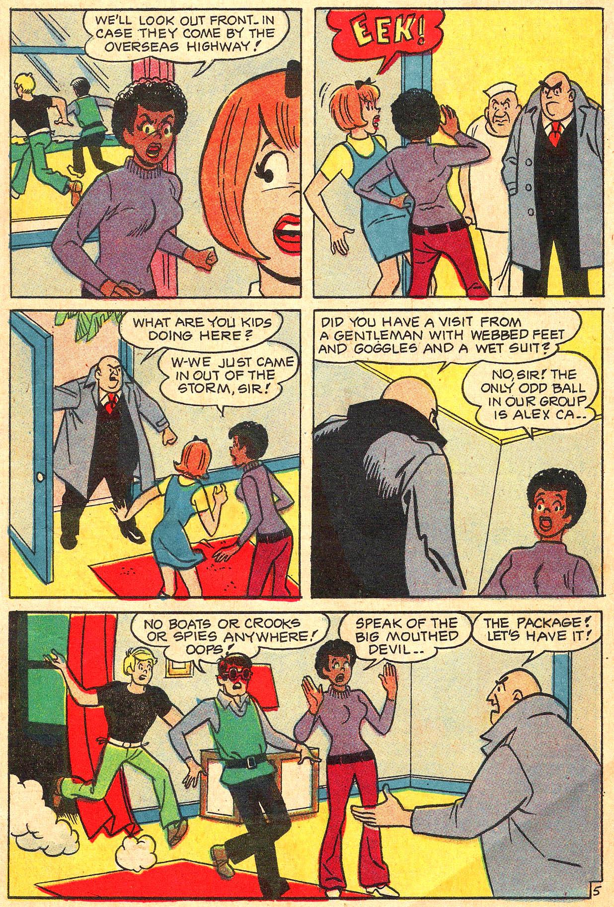 Read online She's Josie comic -  Issue #59 - 7