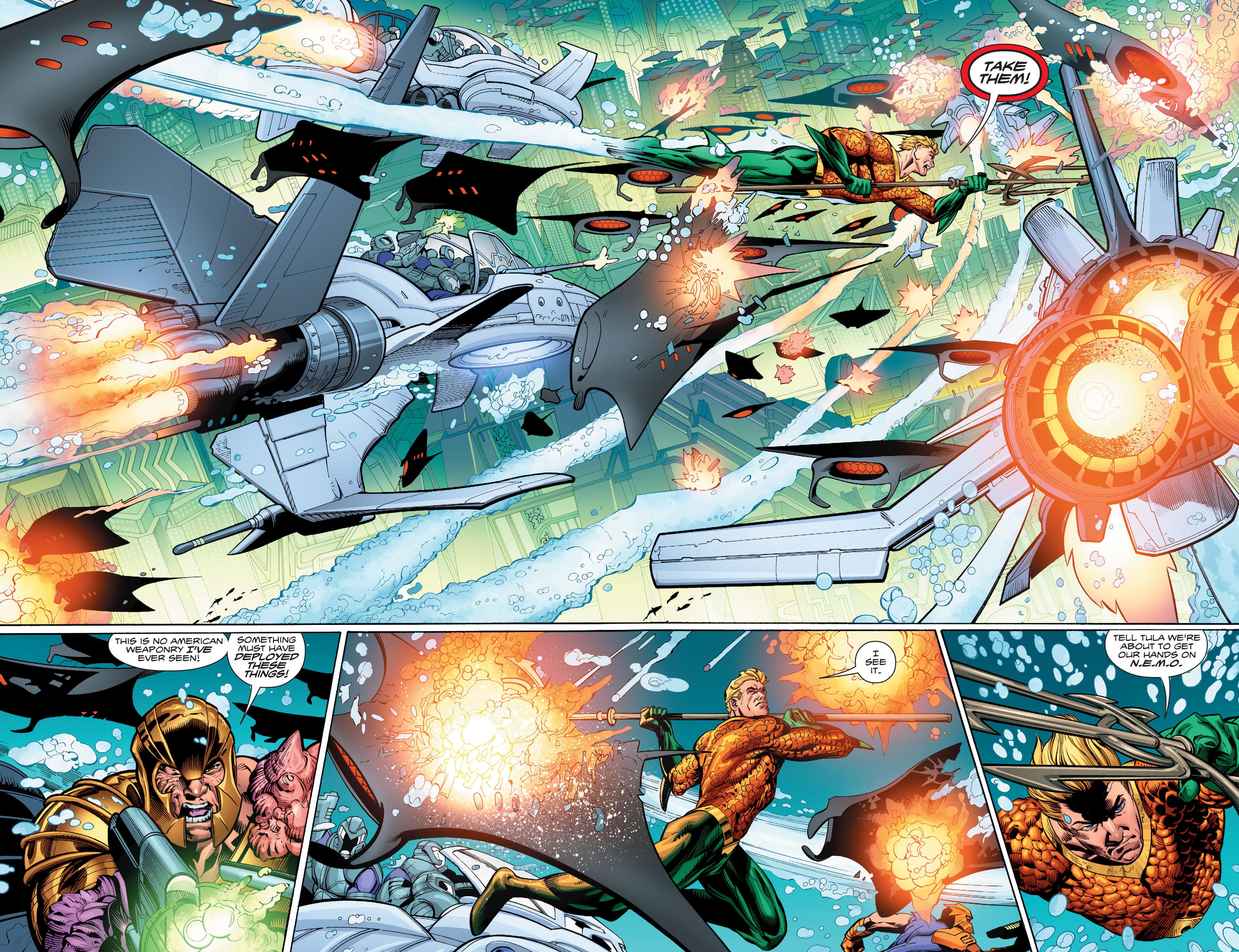 Read online Aquaman (2016) comic -  Issue #13 - 14