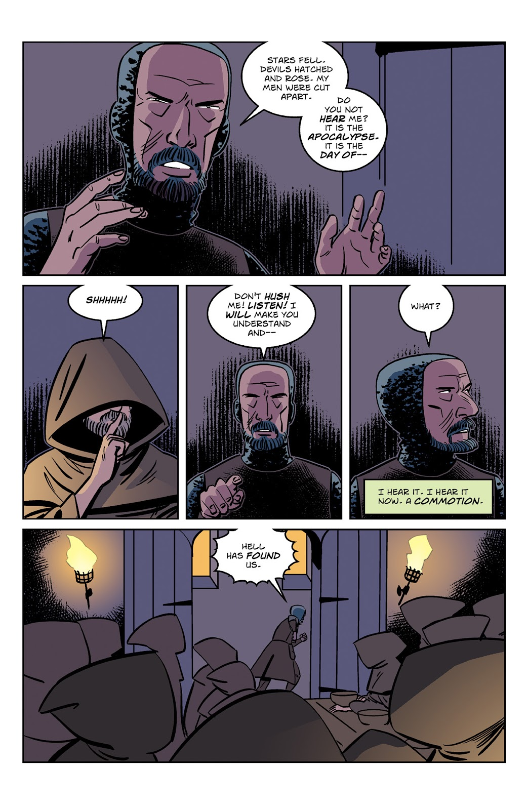 Read online Dark Ages comic -  Issue #2 - 11