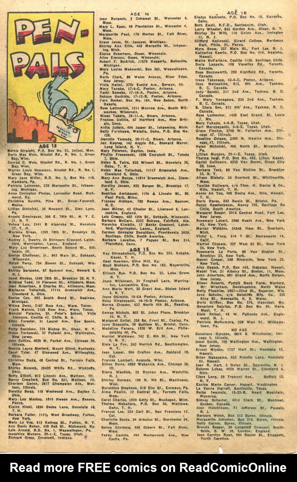 Read online Famous Funnies comic -  Issue #135 - 19