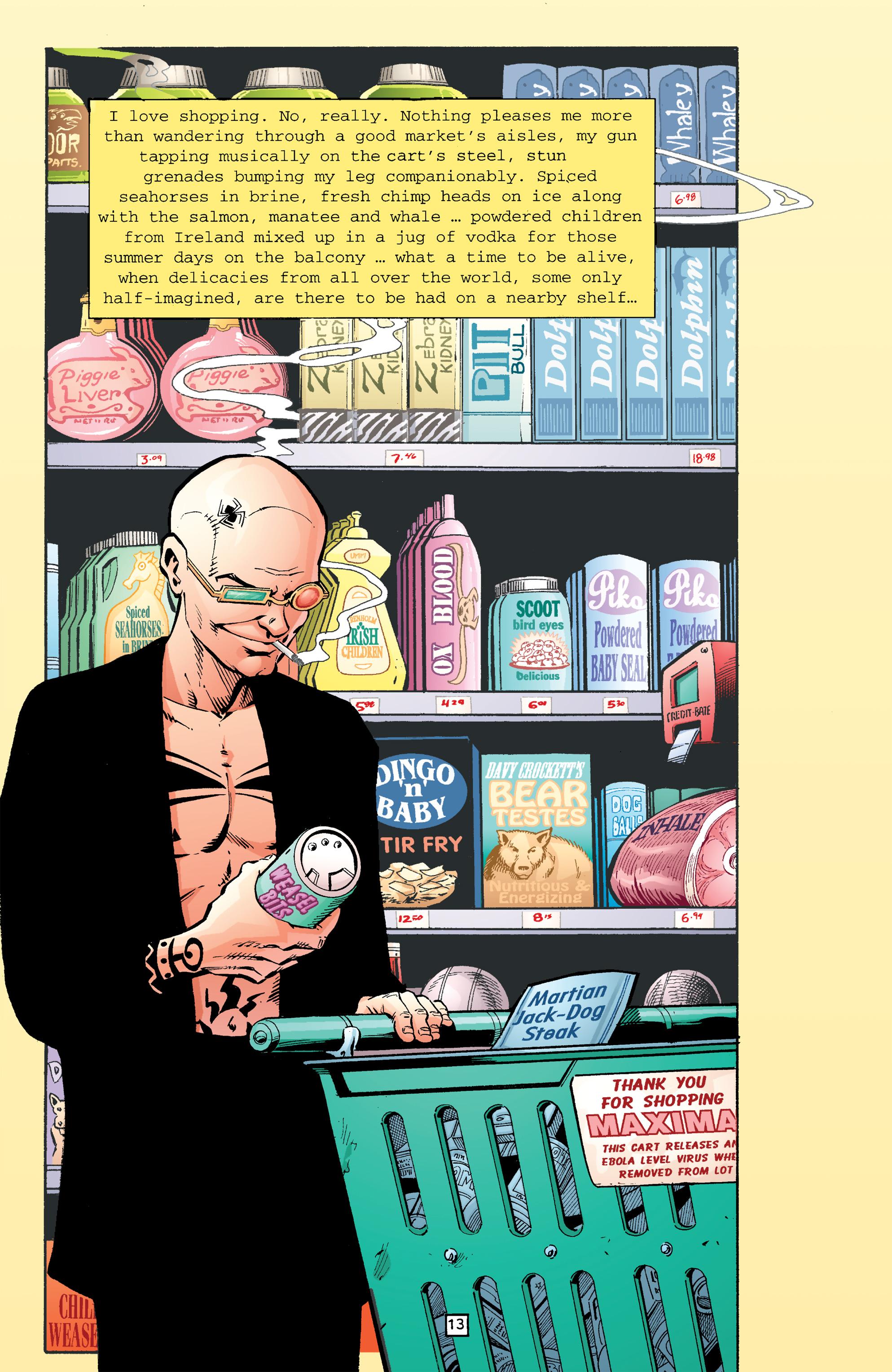 Read online Transmetropolitan comic -  Issue #26 - 14