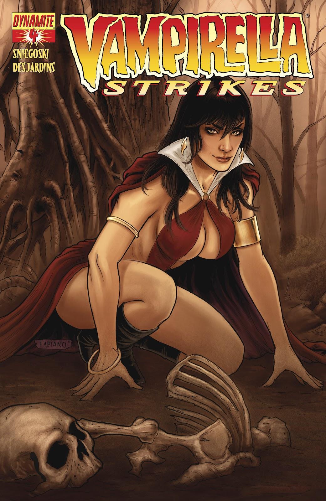 Read online Vampirella Strikes comic -  Issue #4 - 2