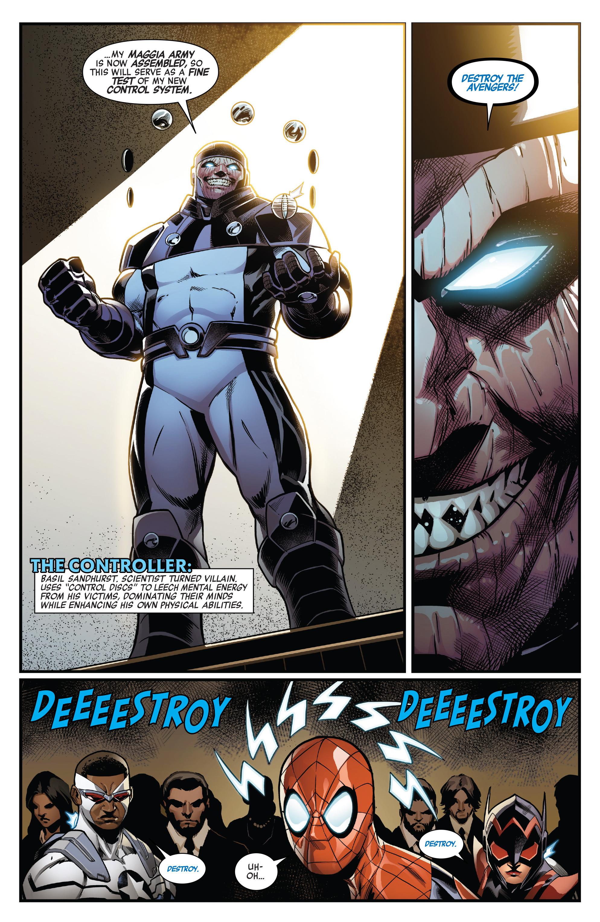 Read online Avengers (2016) comic -  Issue #1.MU - 10