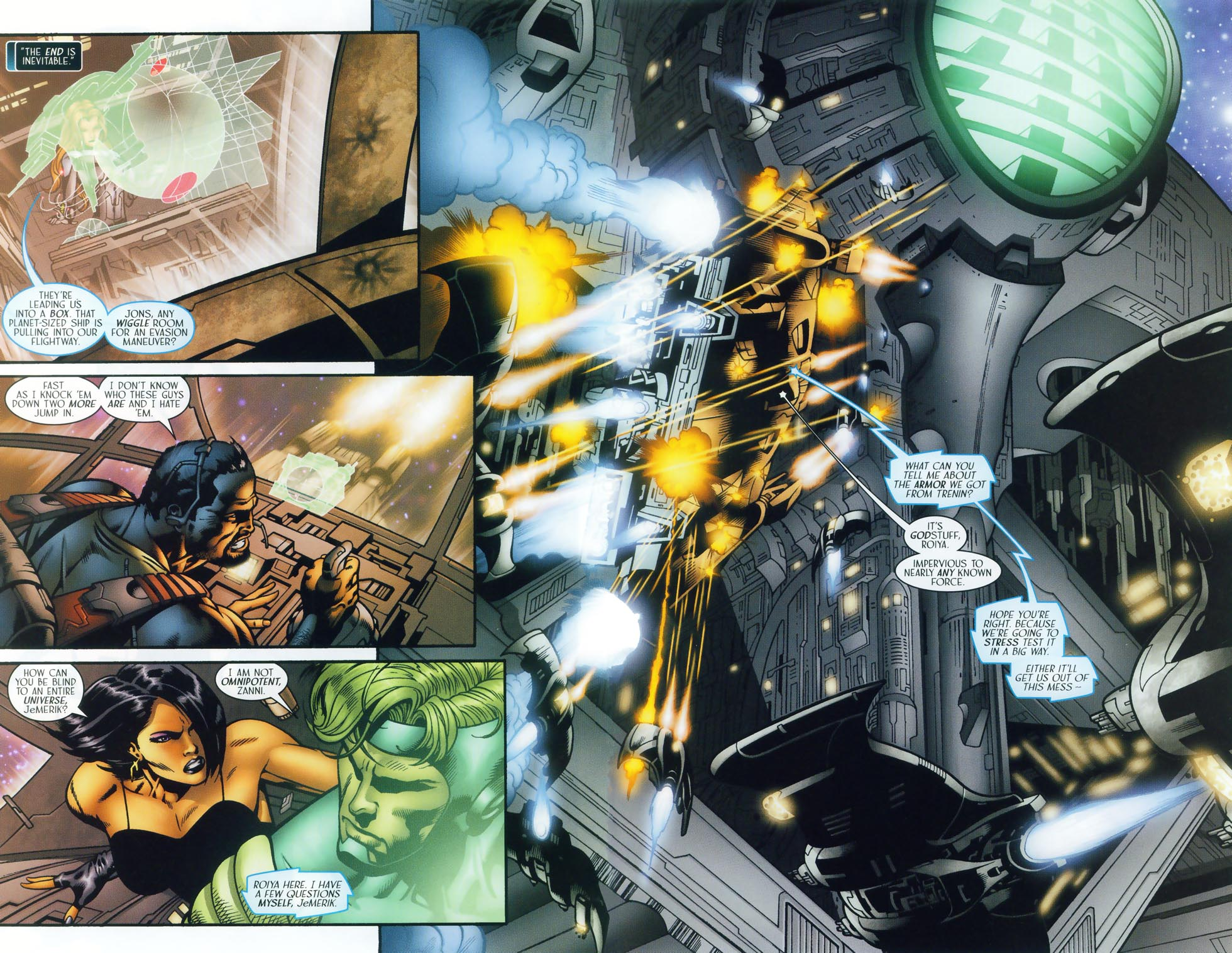 Read online Sigil (2000) comic -  Issue #37 - 11