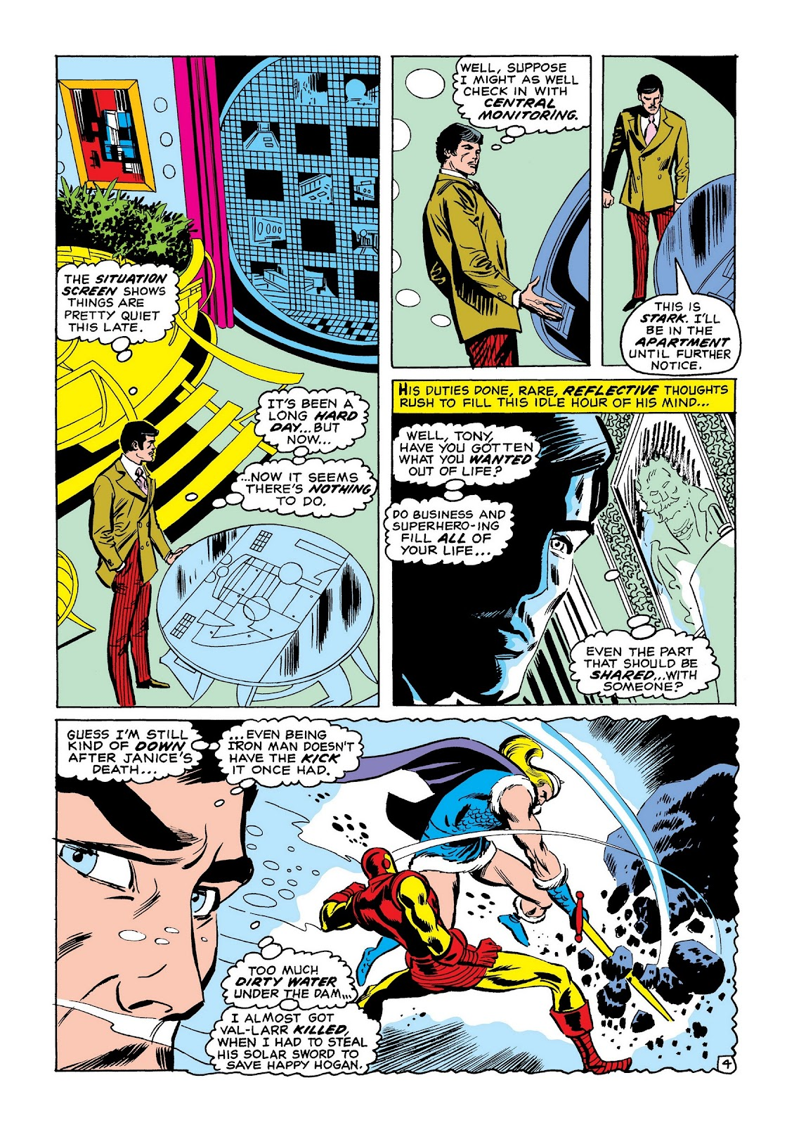 Read online Marvel Masterworks: The Invincible Iron Man comic -  Issue # TPB 7 (Part 2) - 53
