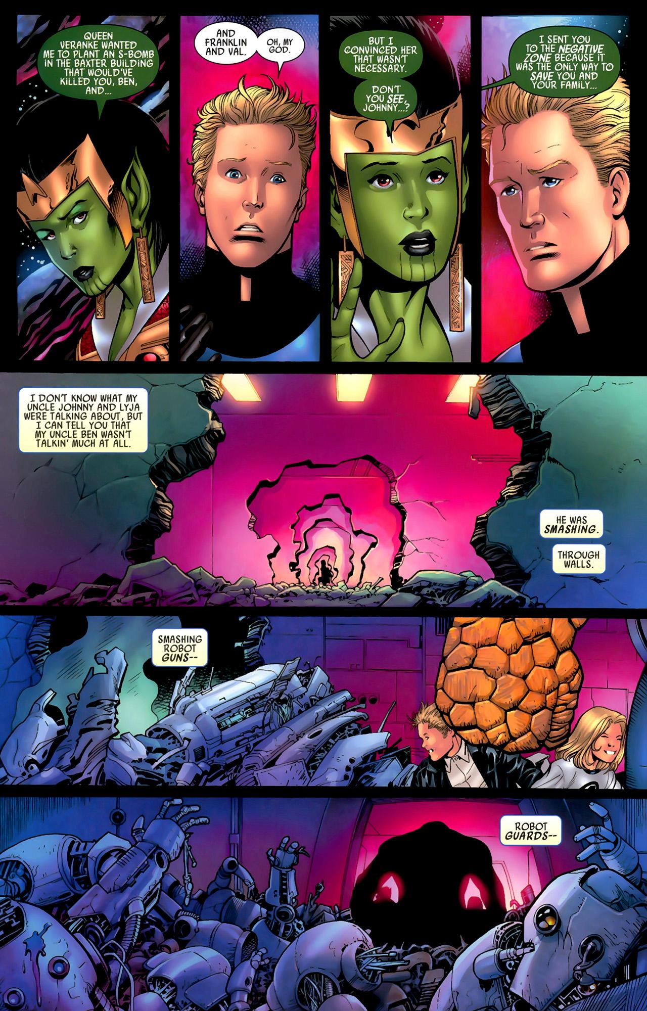 Read online Secret Invasion: Fantastic Four comic -  Issue #3 - 15