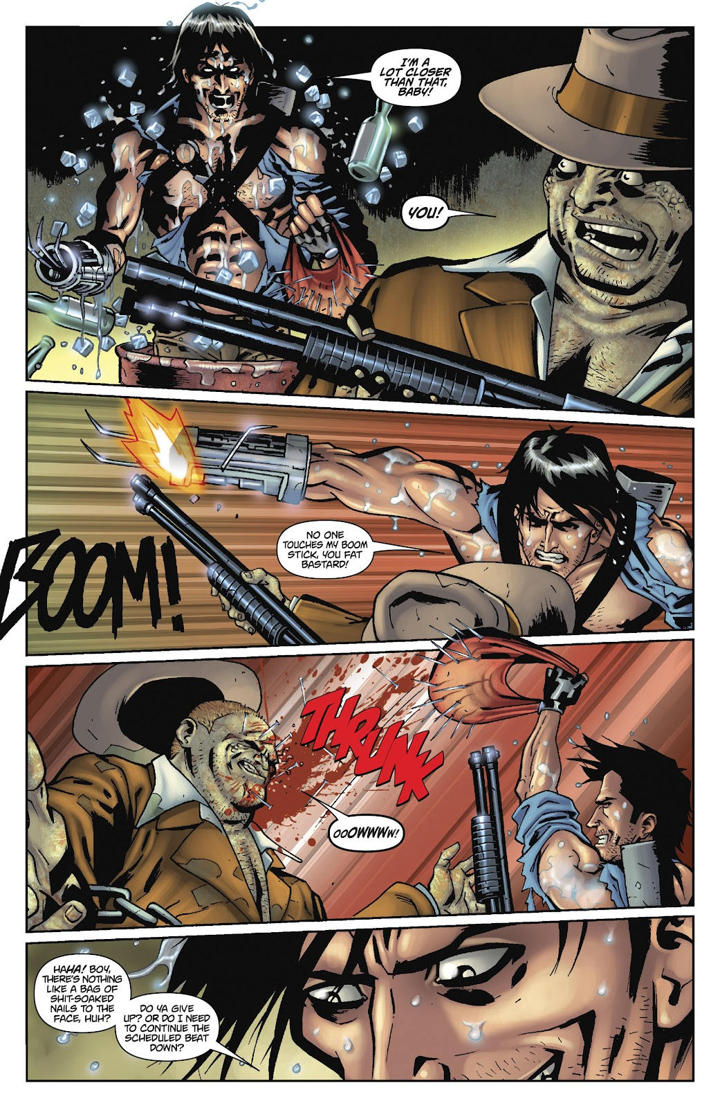 Army of Darkness: The Long Road Home issue TPB - Page 90