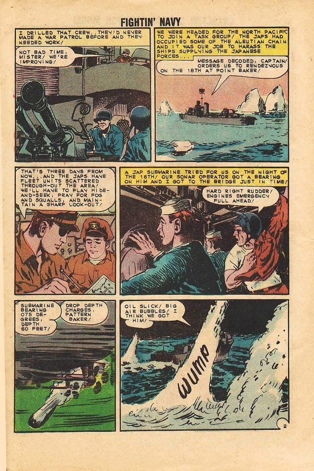 Read online Fightin' Navy comic -  Issue #113 - 4