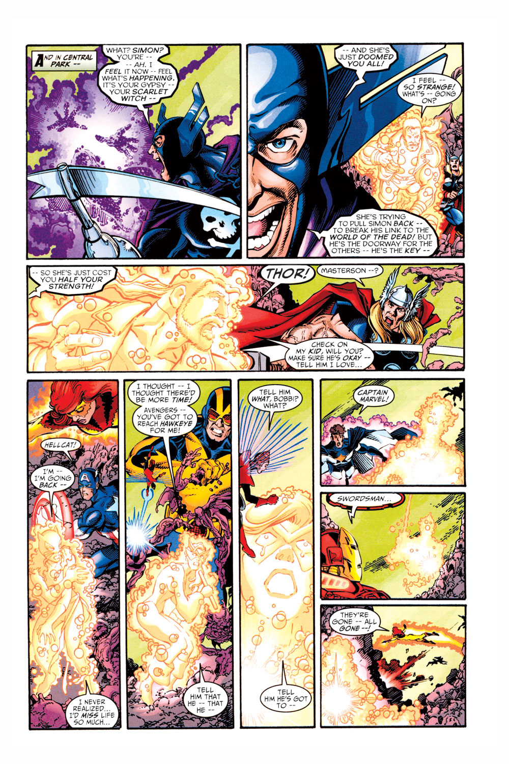 Read online Avengers (1998) comic -  Issue #11 - 18