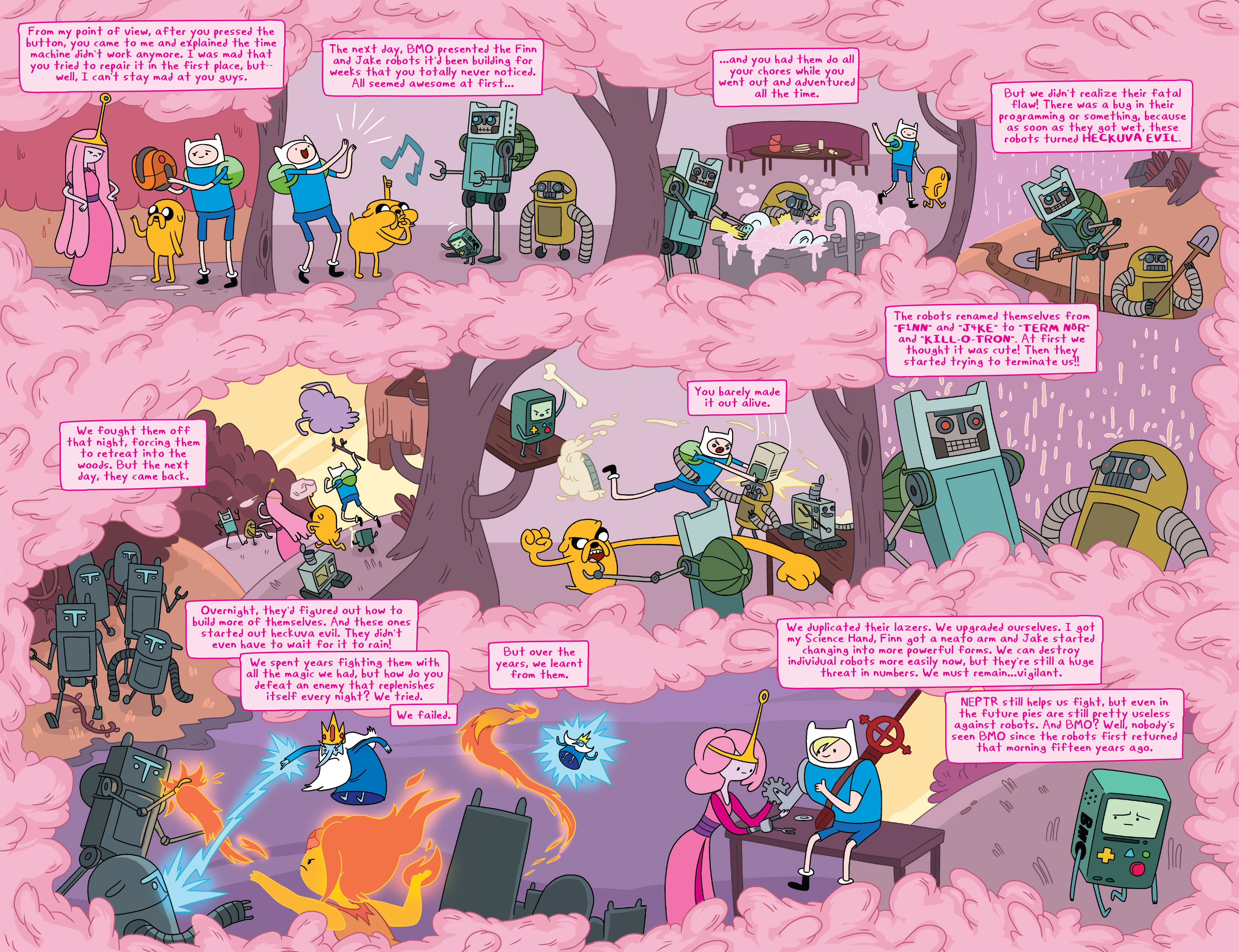 Read online Adventure Time comic -  Issue #7 - 19