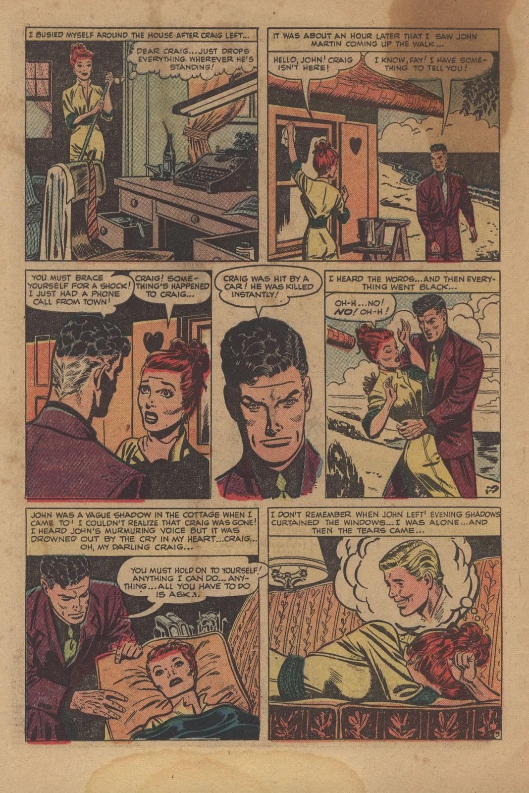 Love Romances (1949) issue 28 - Page 30