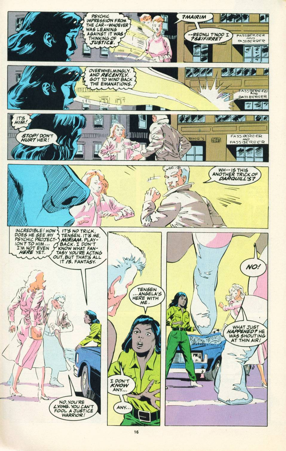 Read online Justice (1986) comic -  Issue #22 - 17