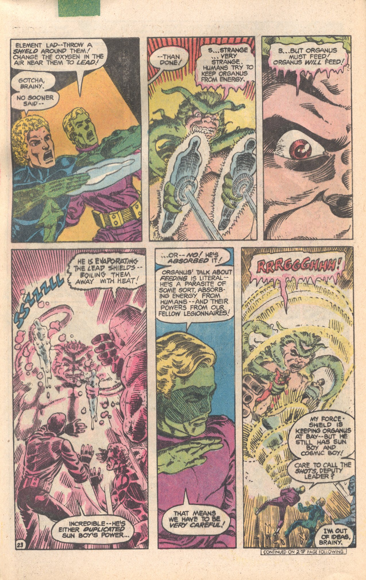 Legion of Super-Heroes (1980) 284 Page 23