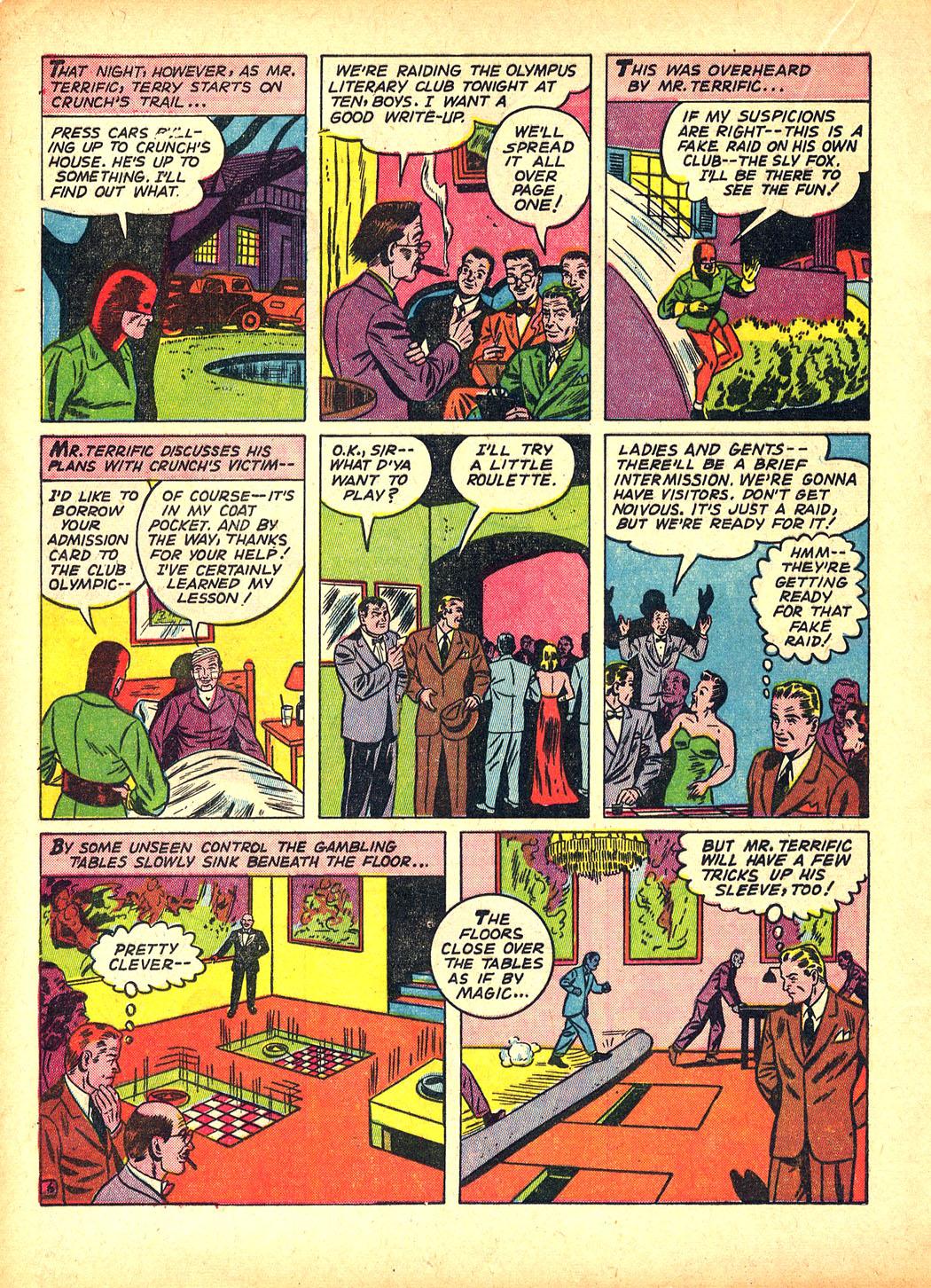 Read online Sensation (Mystery) Comics comic -  Issue #5 - 30