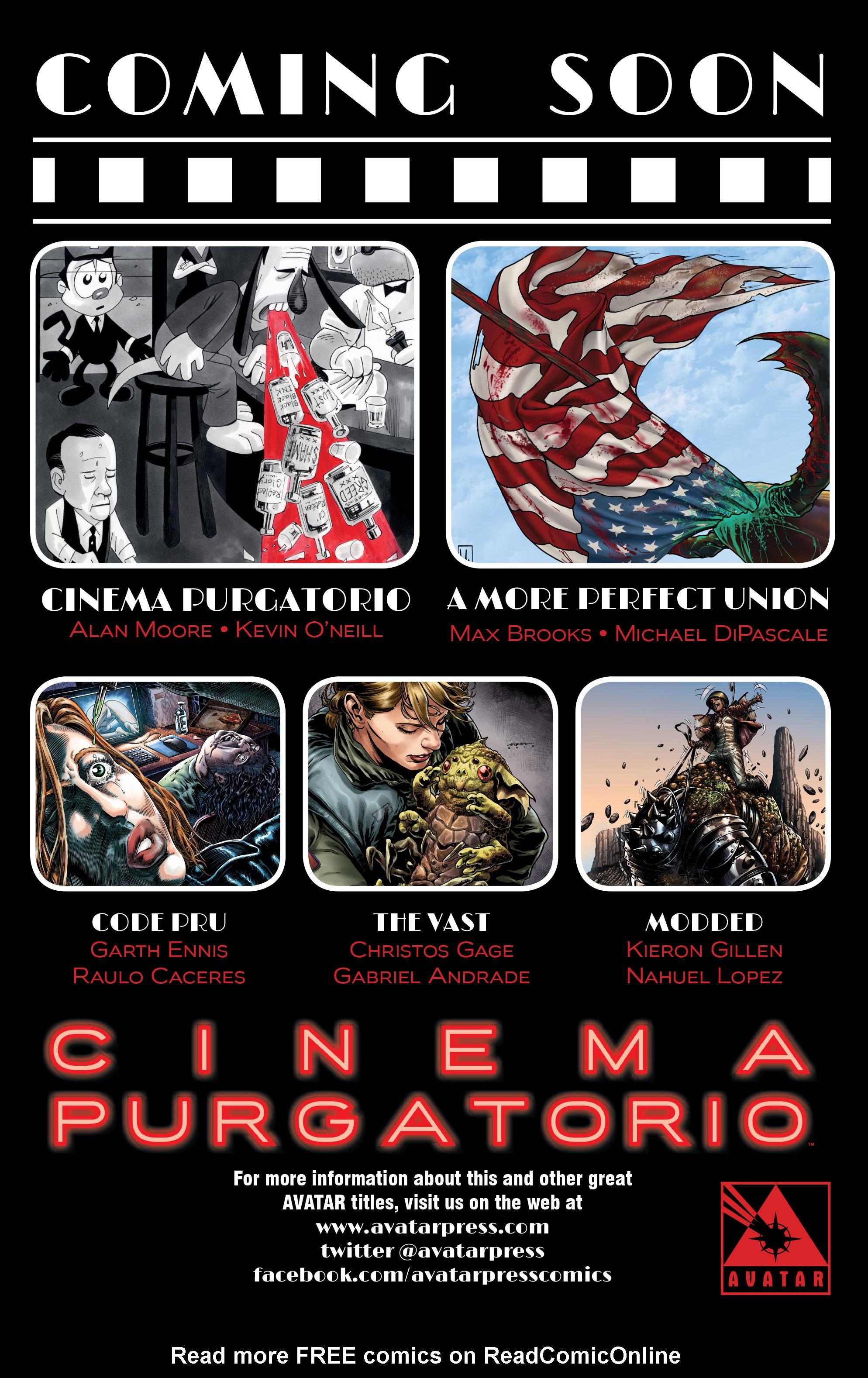 Read online Alan Moore's Cinema Purgatorio comic -  Issue #7 - 51