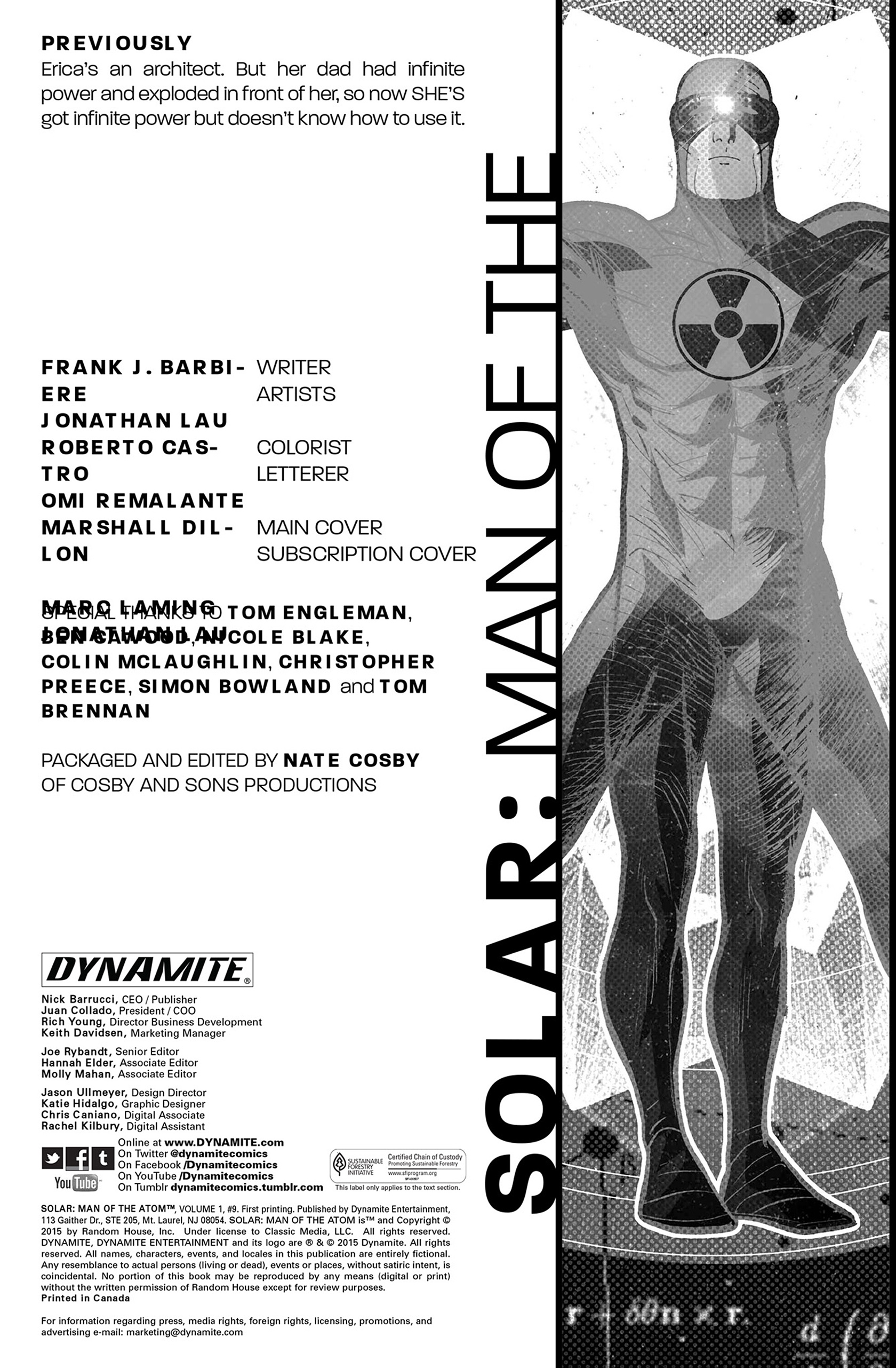 Read online Solar: Man of the Atom (2014) comic -  Issue #9 - 2