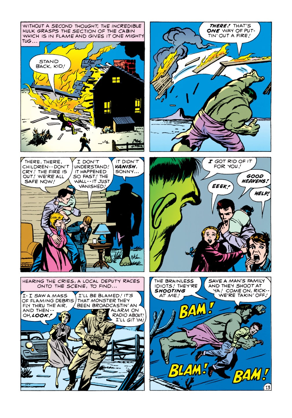 Read online Marvel Masterworks: The Incredible Hulk comic -  Issue # TPB 1 (Part 1) - 91
