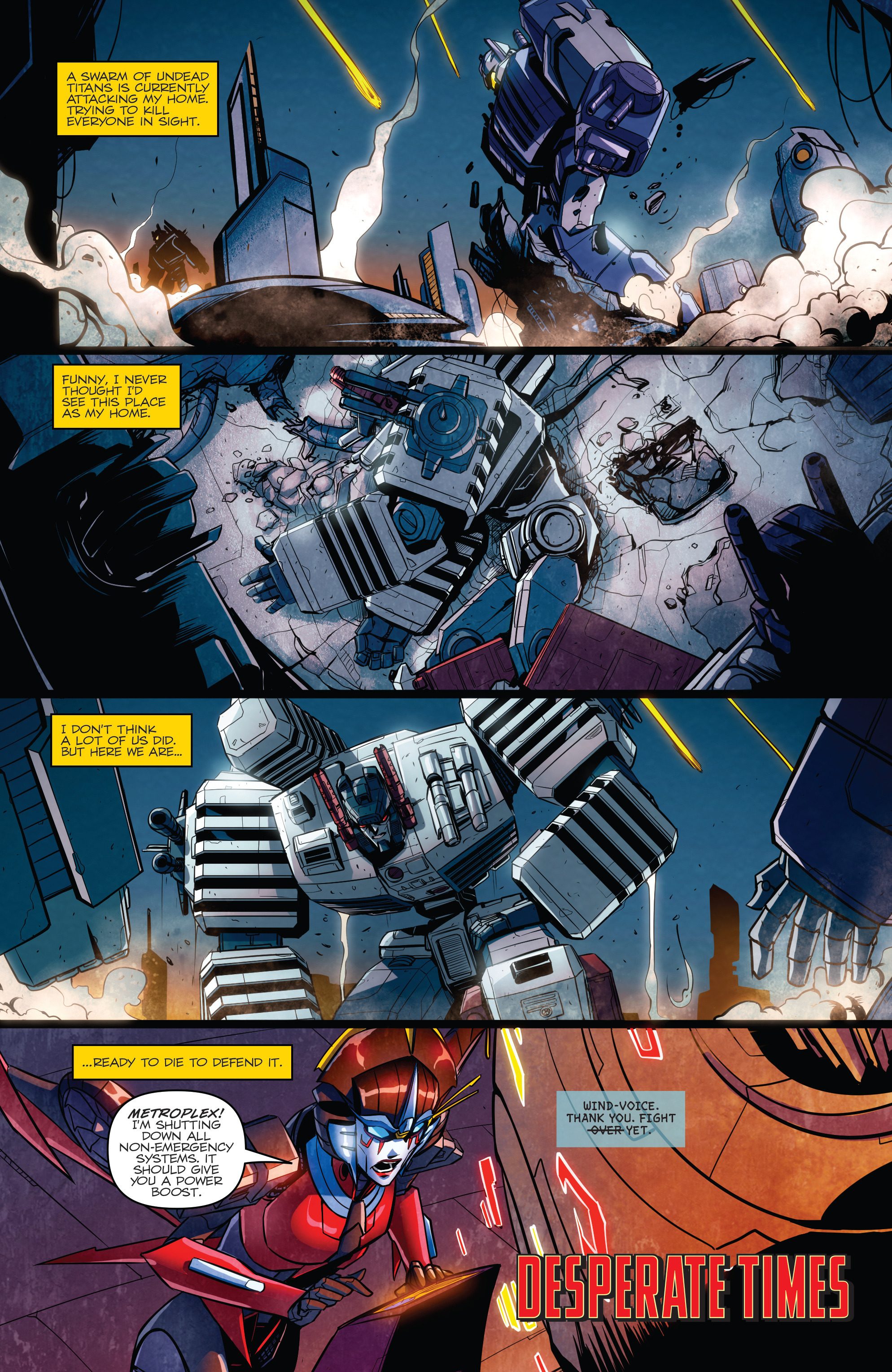 Read online Transformers: Till All Are One comic -  Issue #6 - 5