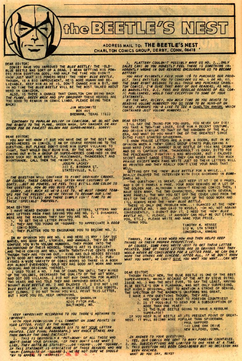 Blue Beetle (1967) issue 4 - Page 24