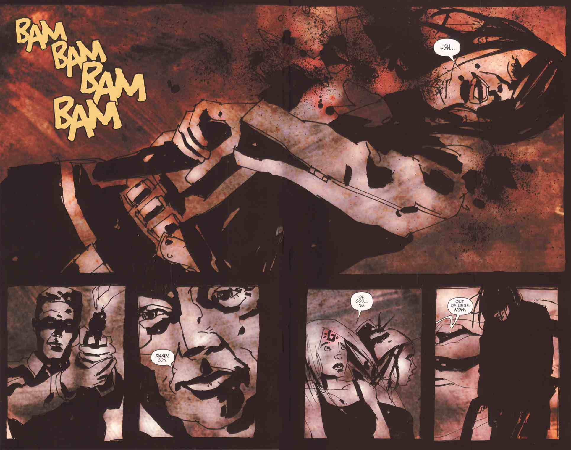 Read online Silent Hill: The Grinning Man comic -  Issue # Full - 38