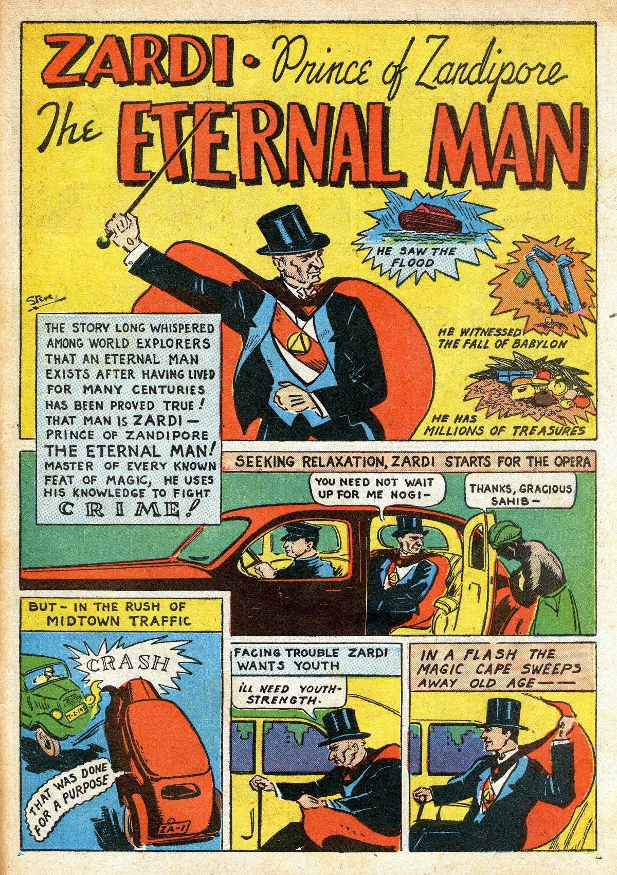 Read online Amazing Man Comics comic -  Issue #16 - 59