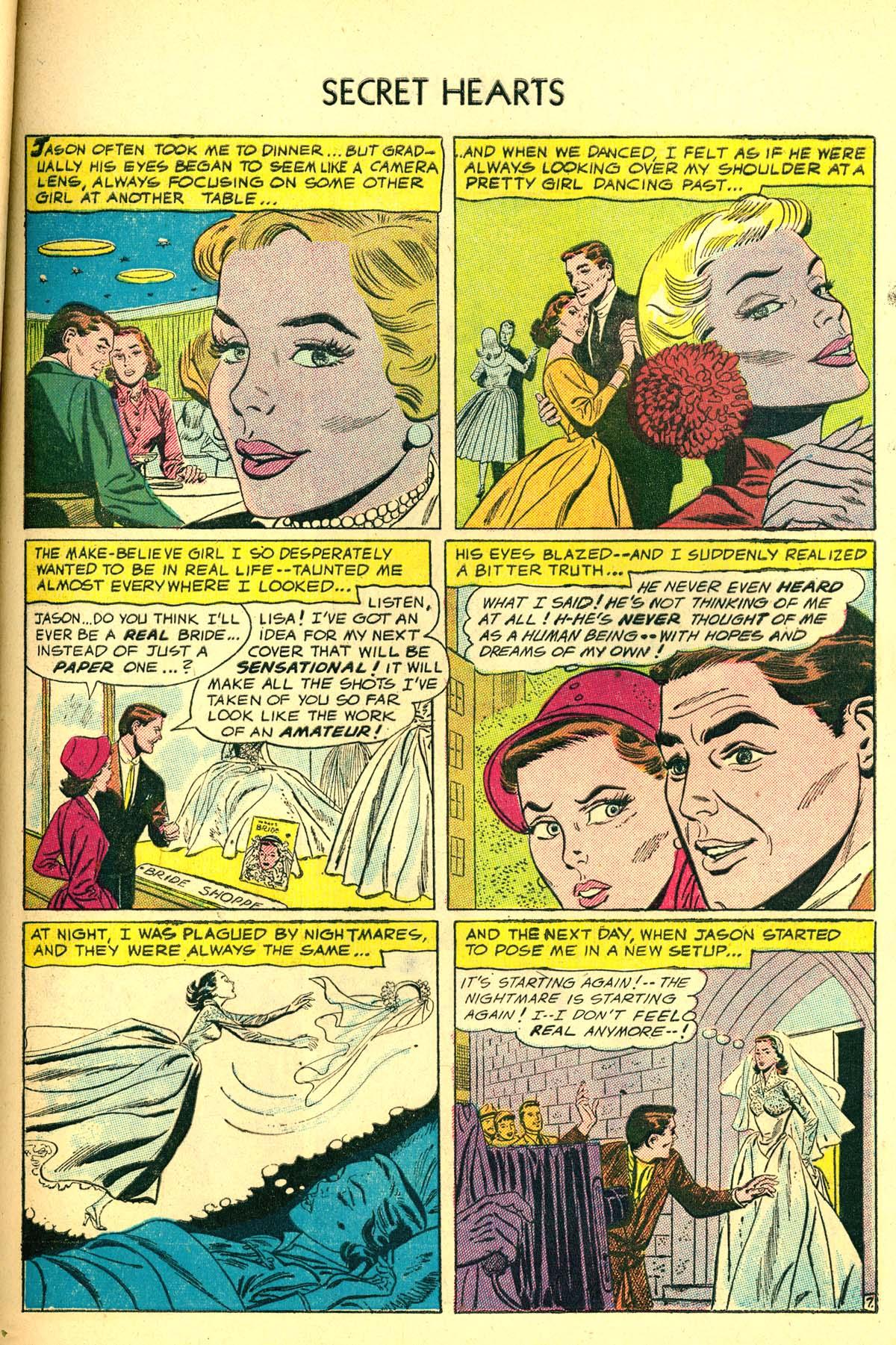 Read online Secret Hearts comic -  Issue #34 - 33