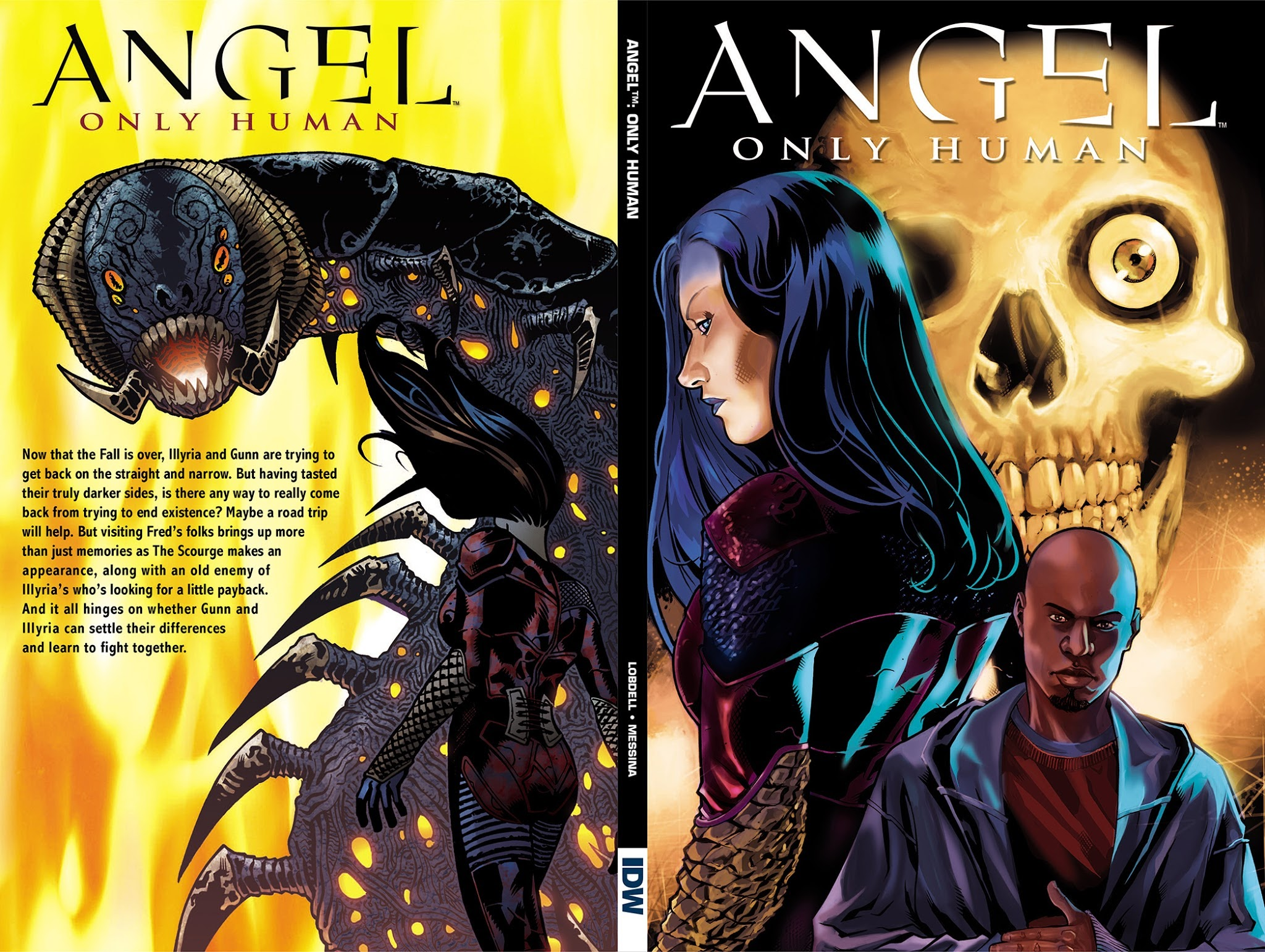 Angel: Only Human TPB Page 1