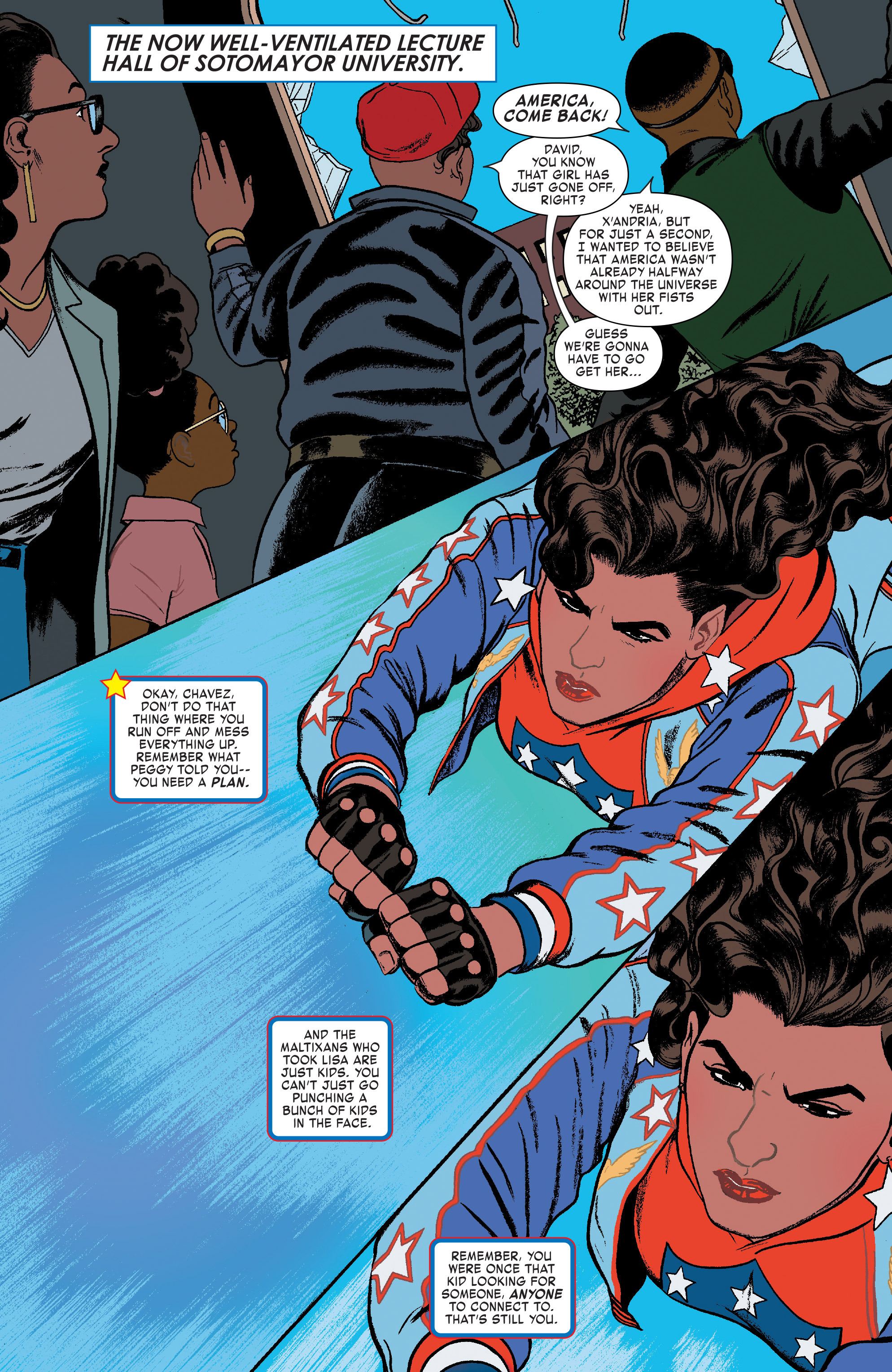 Read online America (2017) comic -  Issue #3 - 3